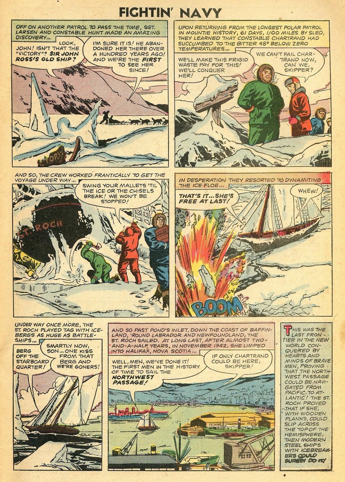 Read online Fightin' Navy comic -  Issue #77 - 33