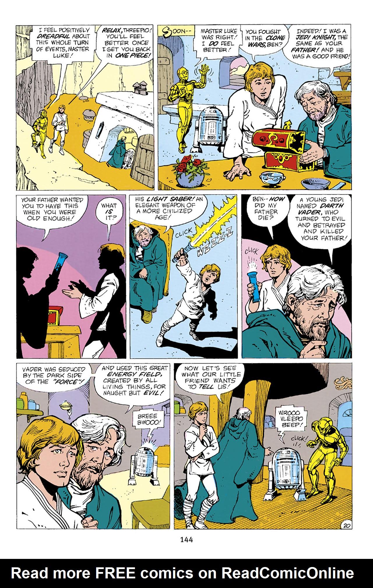 Read online Star Wars Omnibus comic -  Issue # Vol. 23 - 143