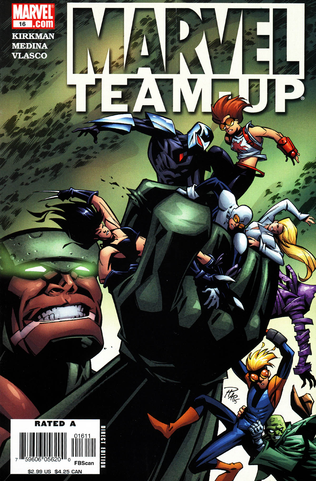 Marvel Team-Up (2004) 16 Page 1
