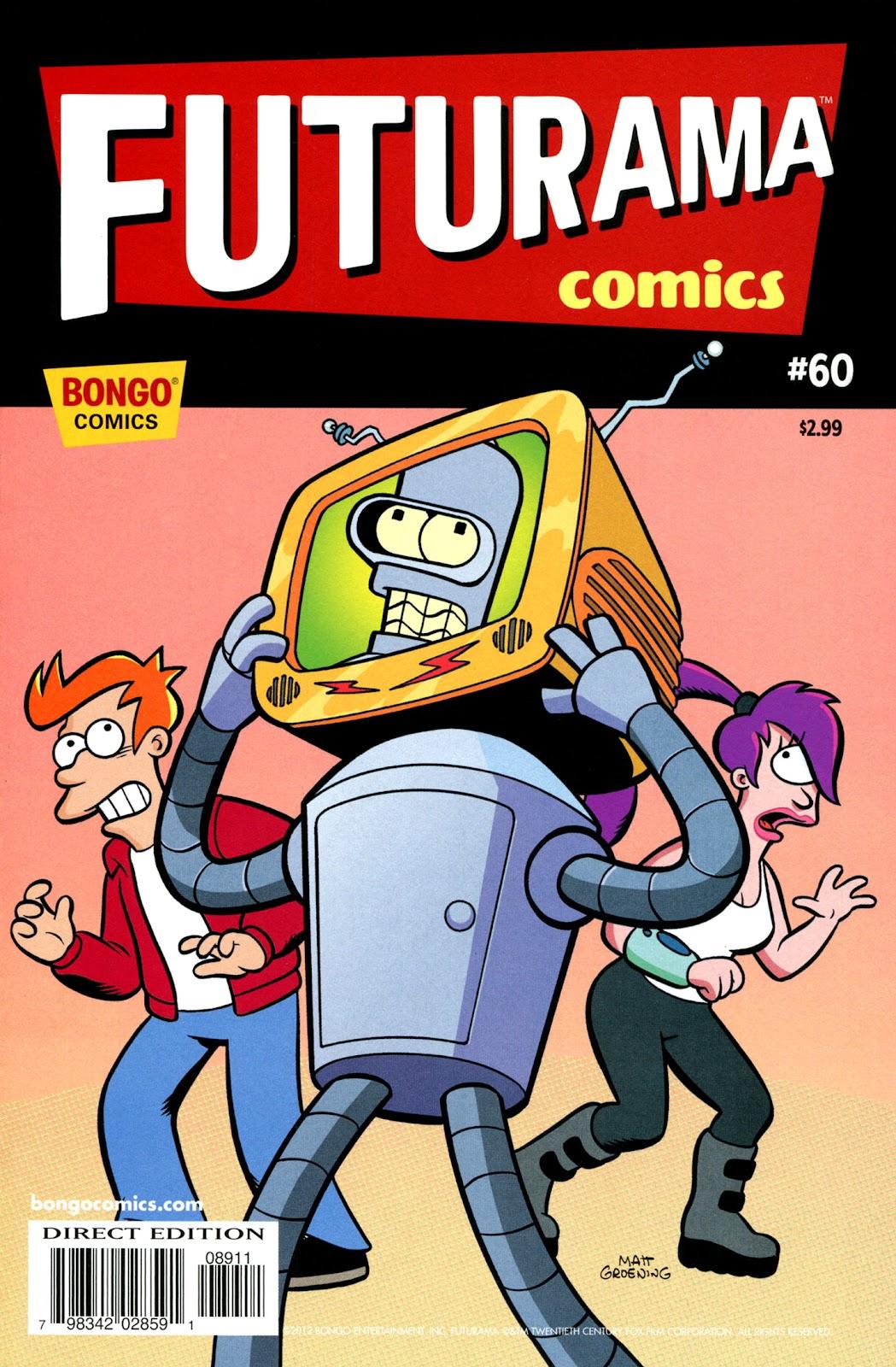 Futurama Comics issue 60 - Page 1