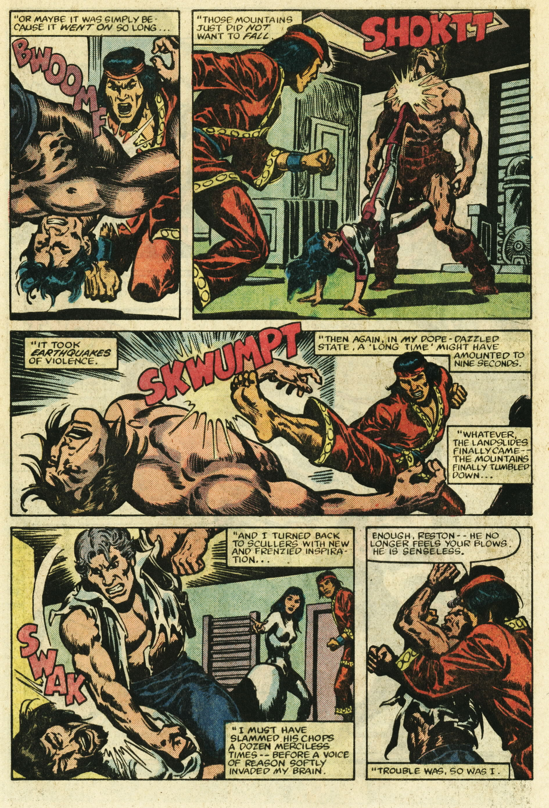 Read online Master of Kung Fu (1974) comic -  Issue #122 - 21