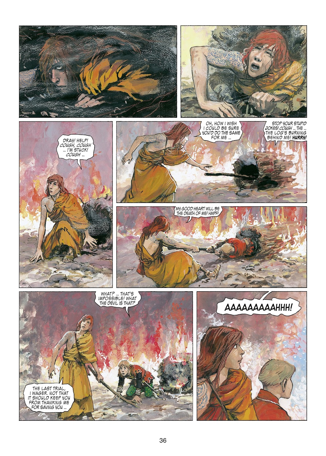 Read online Thorgal comic -  Issue #22 - 38