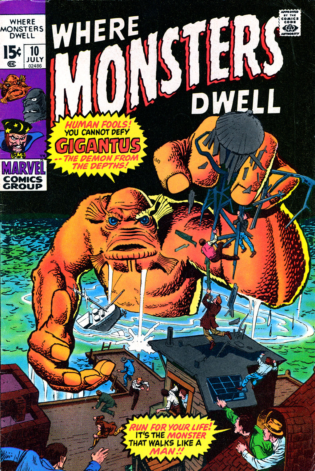 Where Monsters Dwell (1970) issue 10 - Page 1