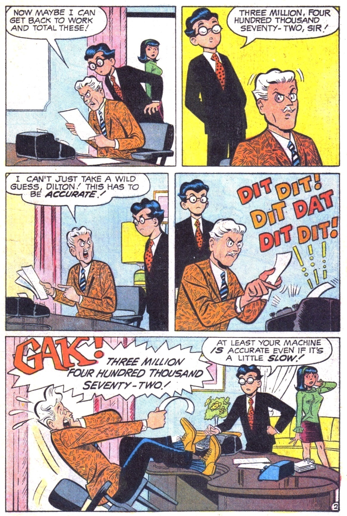 Read online Archie (1960) comic -  Issue #187 - 21