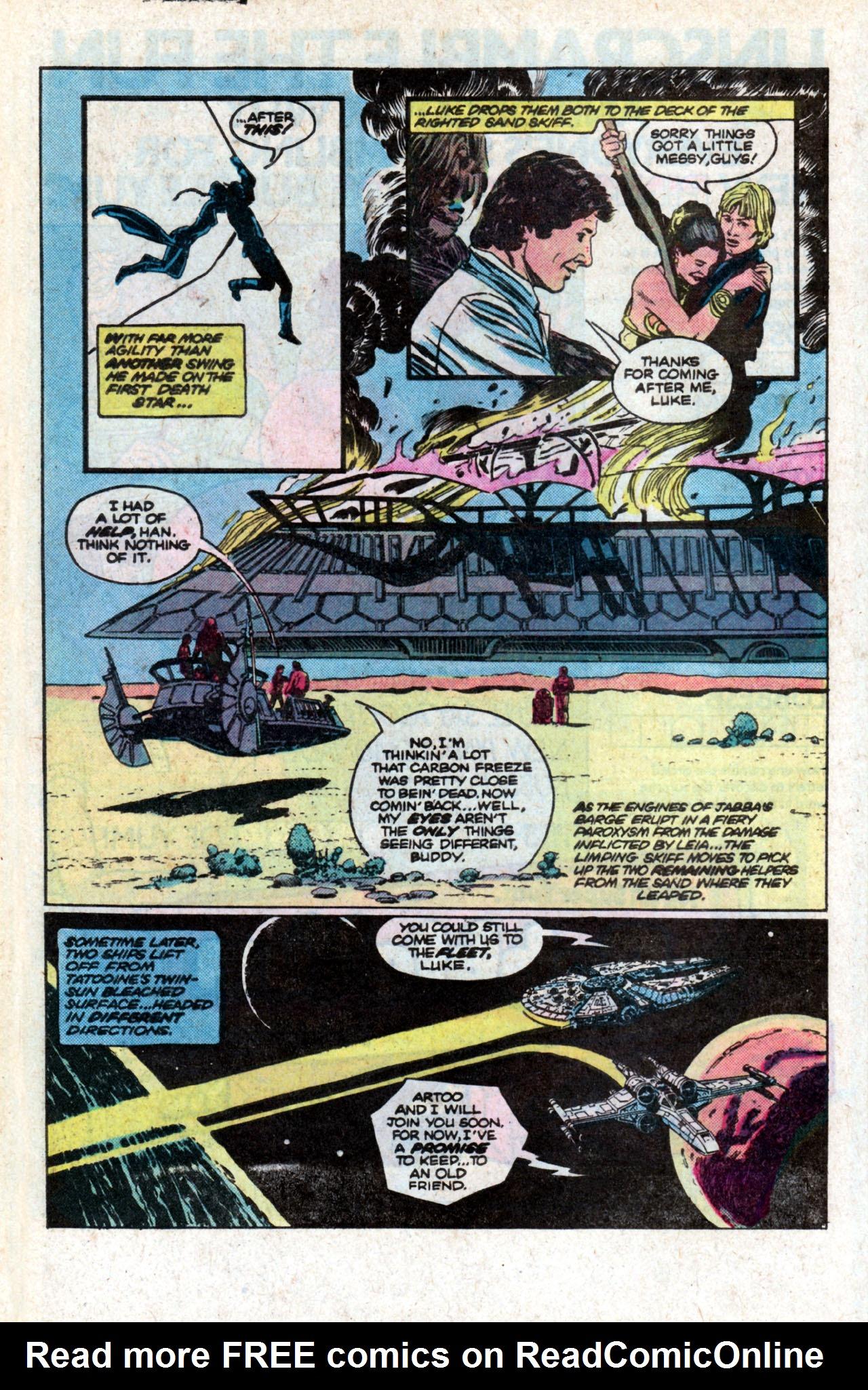 Read online Star Wars: Return of the Jedi comic -  Issue #2 - 16