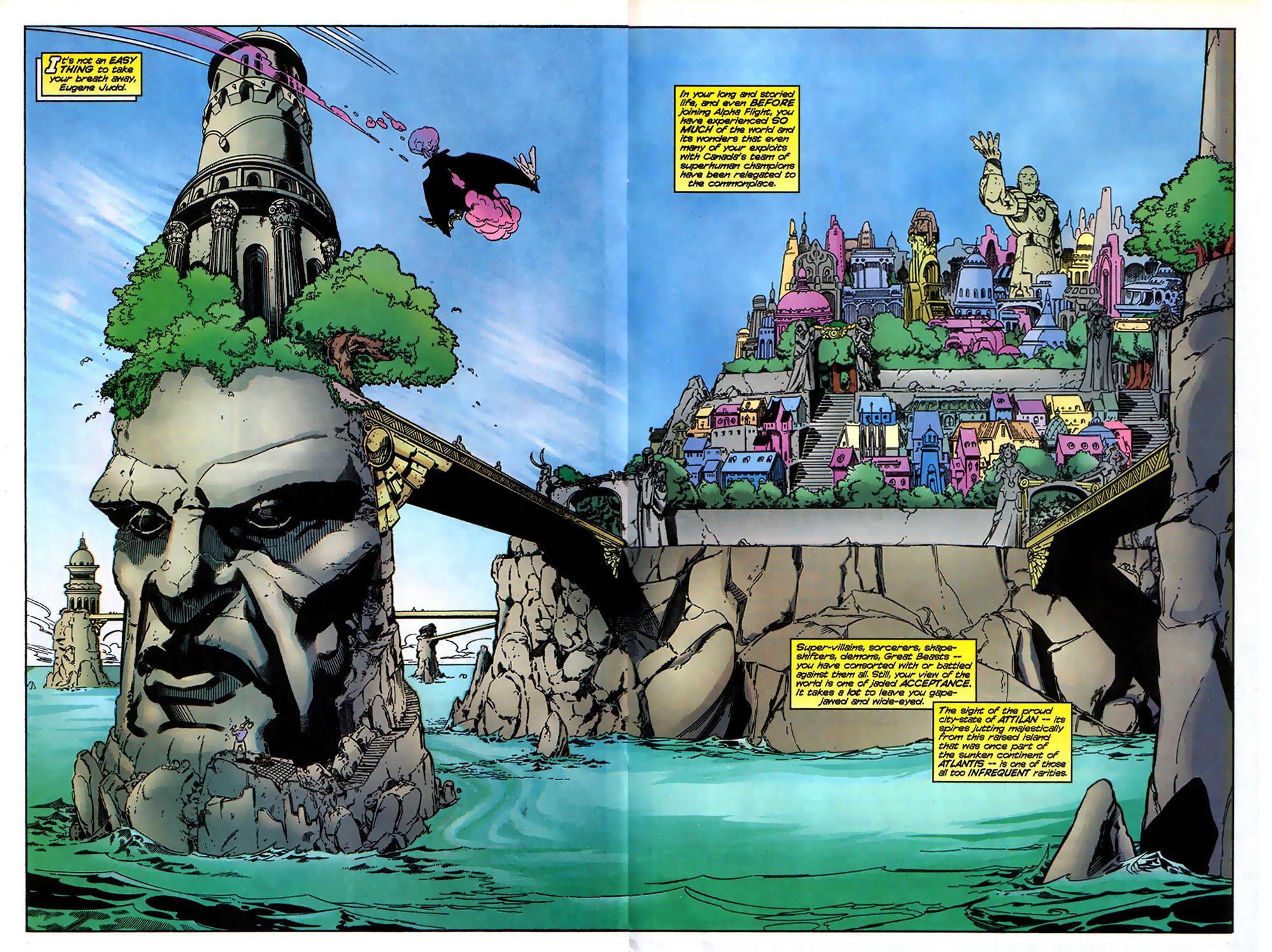 Read online Alpha Flight (1997) comic -  Issue # _Annual - 23