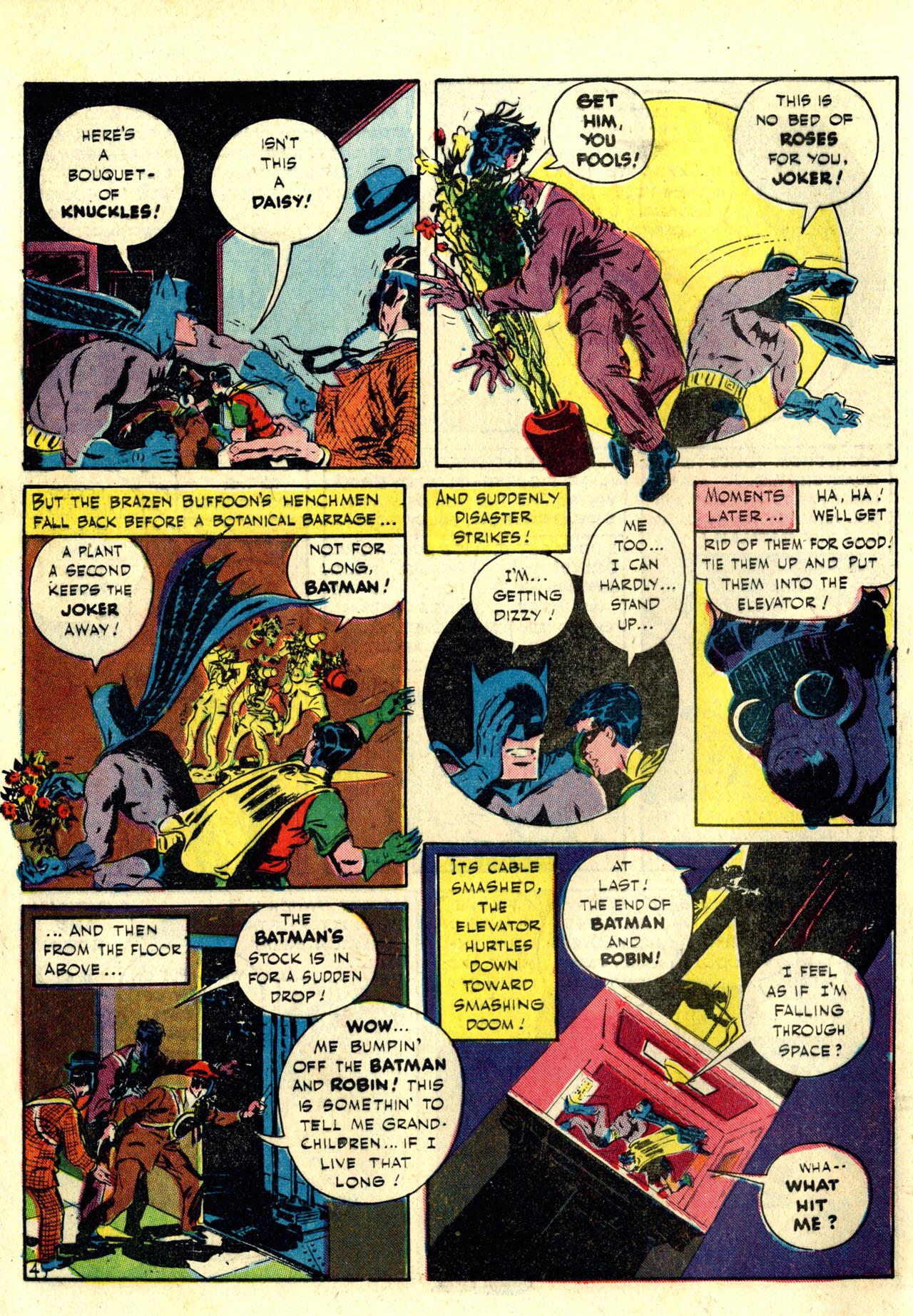 Read online Detective Comics (1937) comic -  Issue #76 - 6