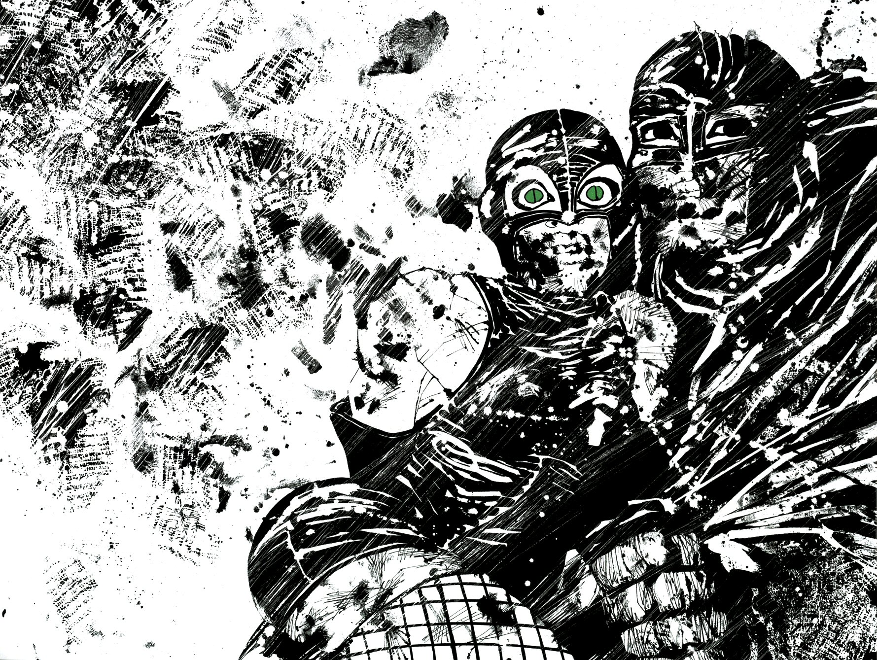 Read online Frank Miller's Holy Terror comic -  Issue # TPB - 59