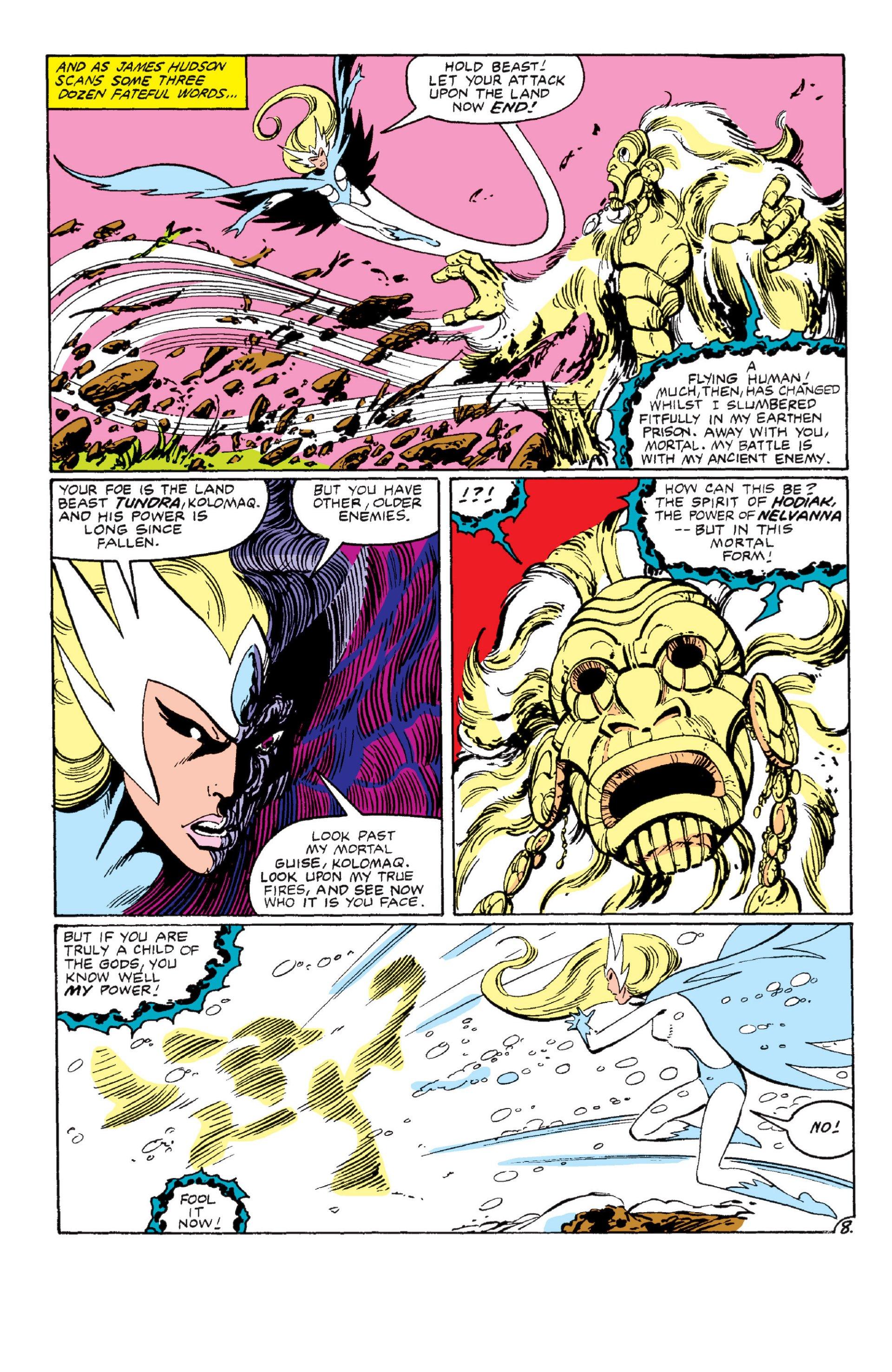 Read online Alpha Flight (1983) comic -  Issue #6 - 9