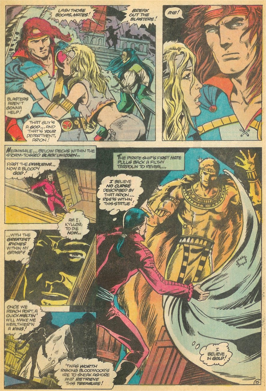 Read online Arion, Lord of Atlantis comic -  Issue #21 - 16