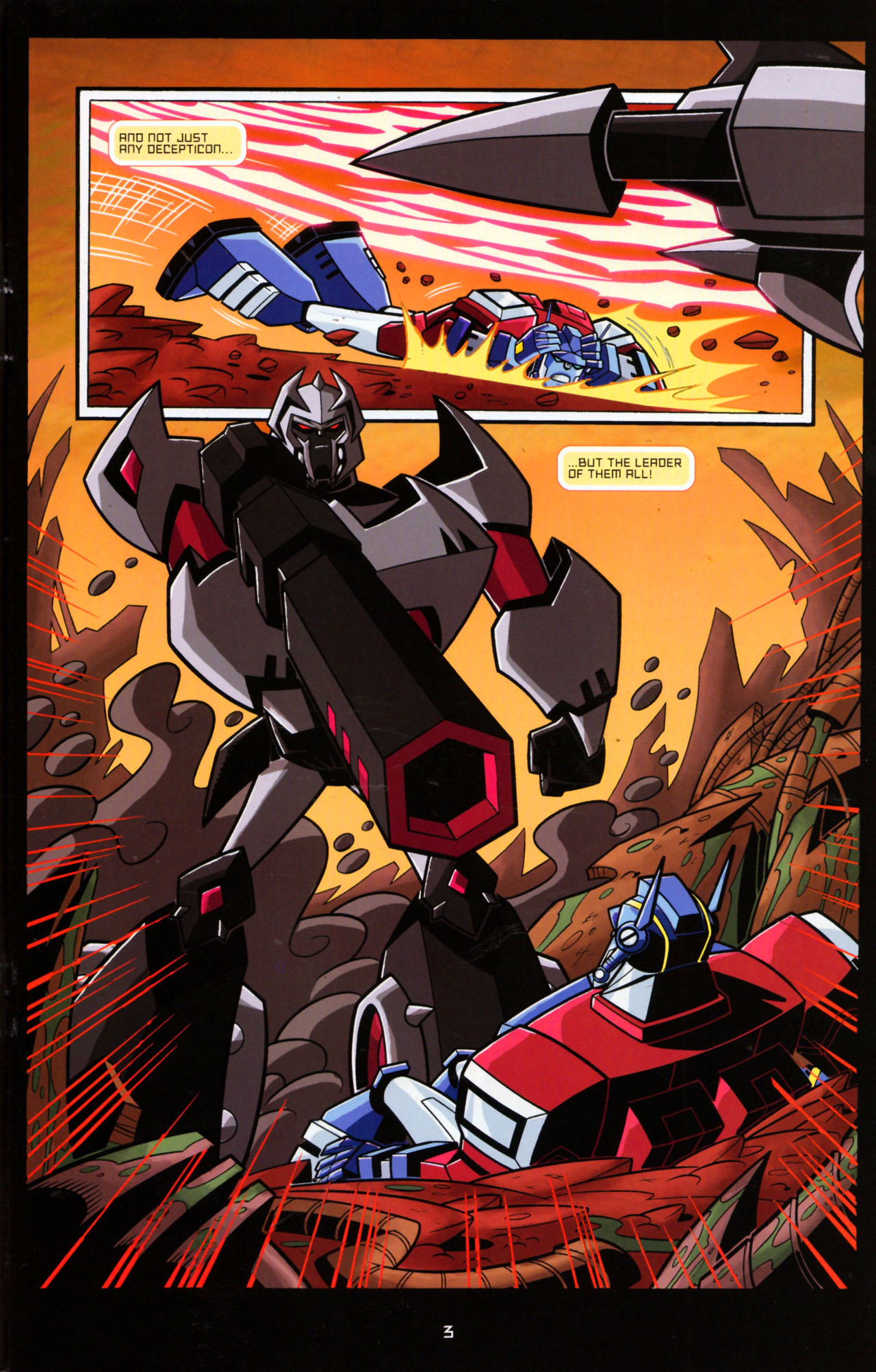Read online Transformers Animated: The Arrival comic -  Issue #5 - 7