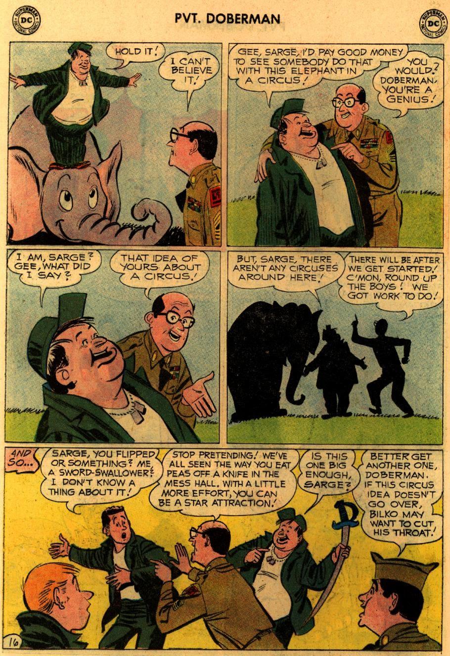 Sgt. Bilko's Pvt. Doberman issue 9 - Page 20