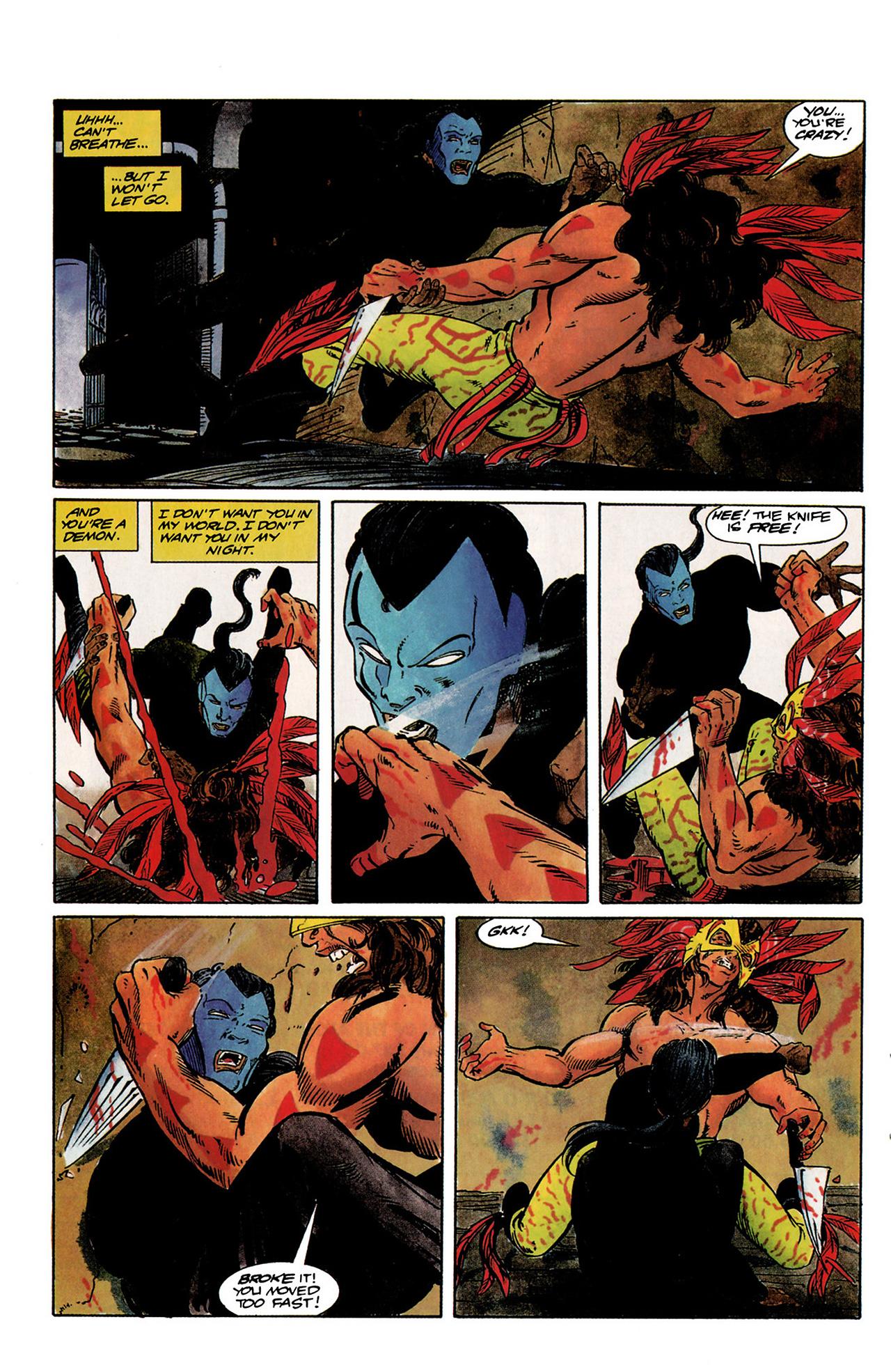 Read online Shadowman (1992) comic -  Issue #1 - 20