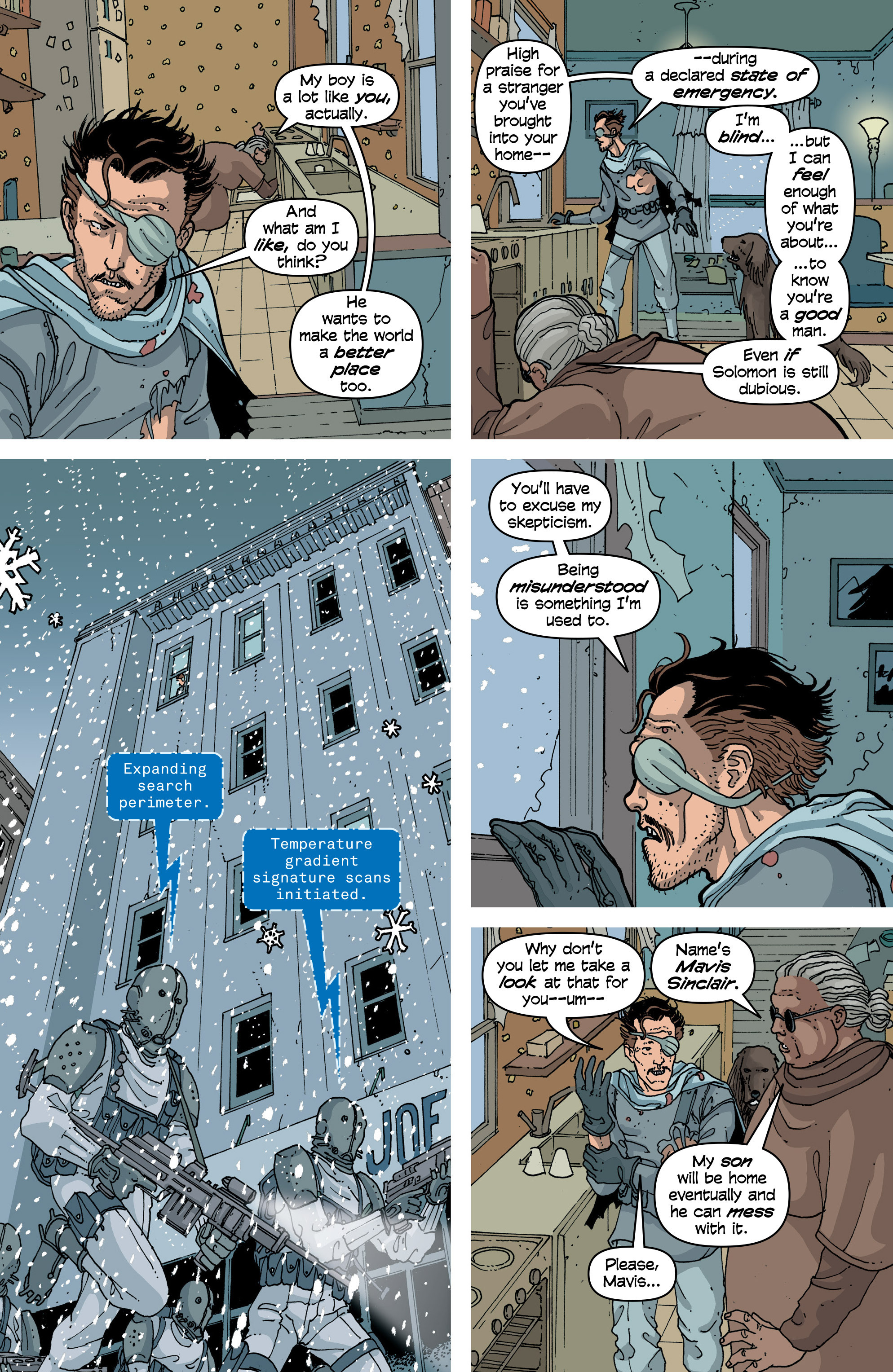 Read online Snowfall comic -  Issue #6 - 15