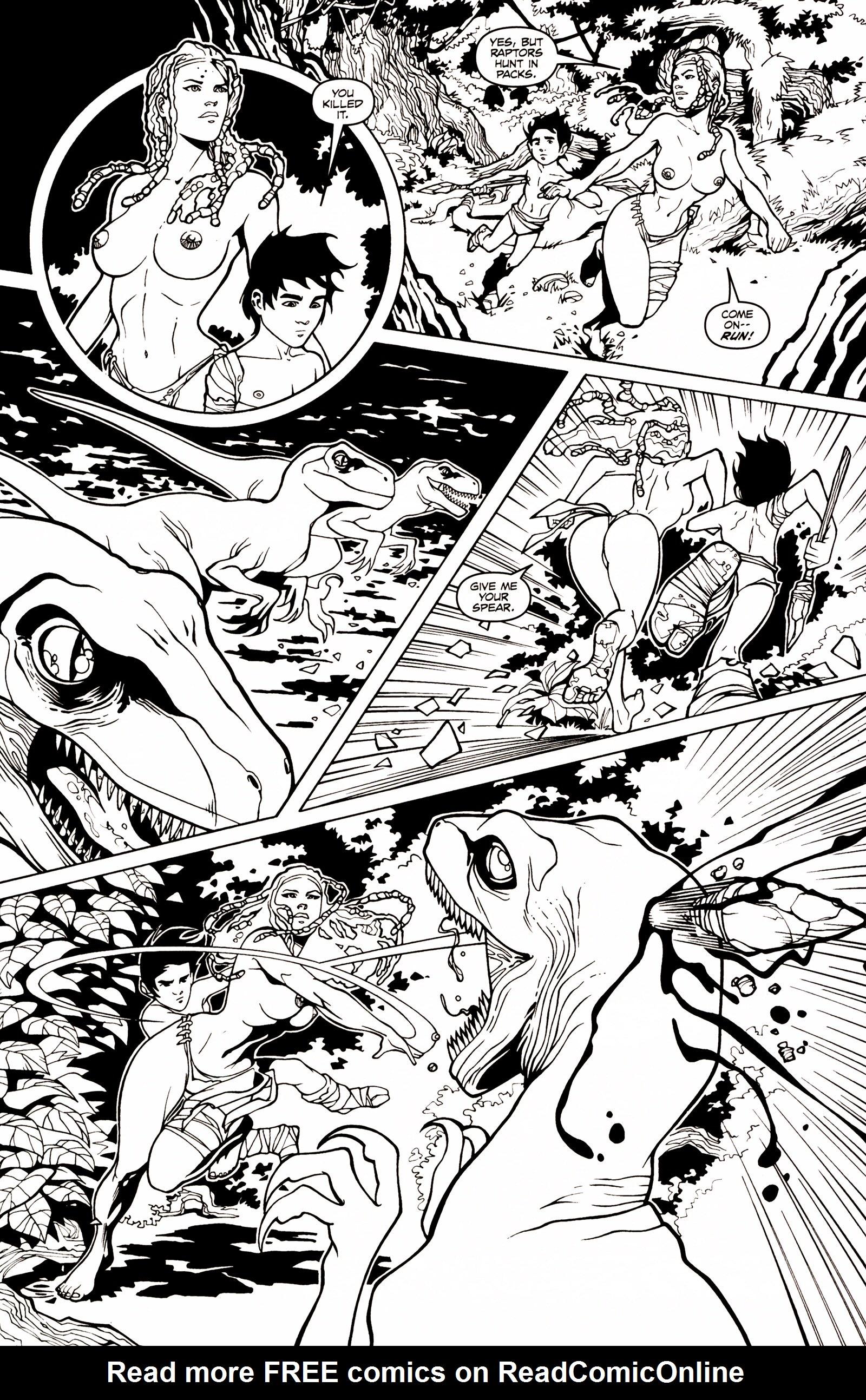 Read online Jungle Fantasy (2002) comic -  Issue # _Annual 1 - 6