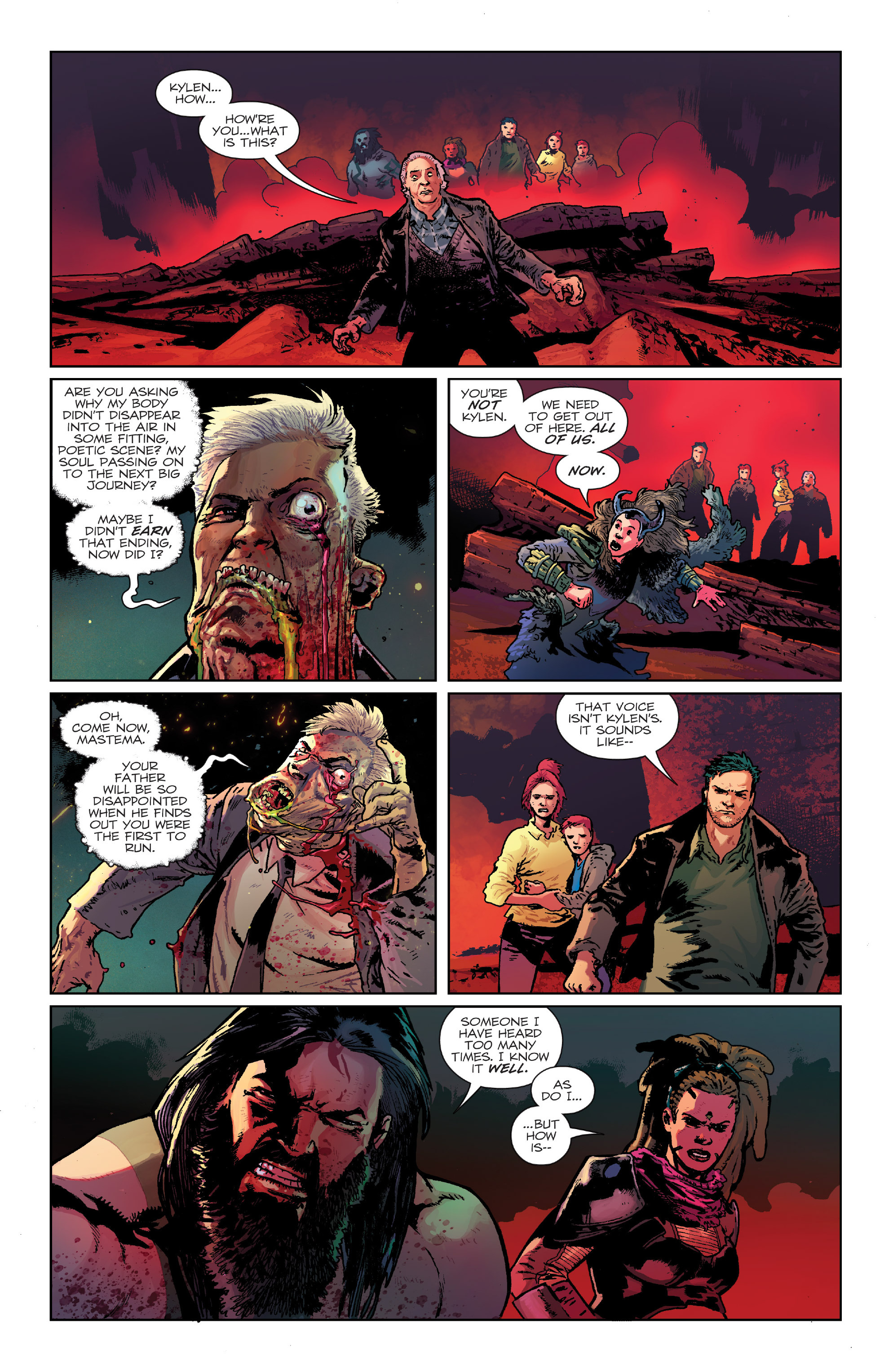 Read online Birthright (2014) comic -  Issue #24 - 18