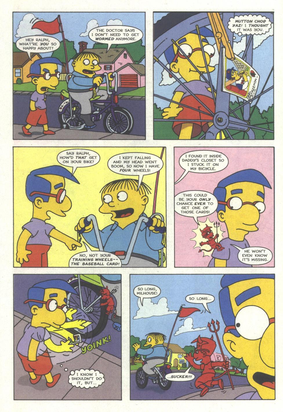 Read online Simpsons Comics comic -  Issue #18 - 28