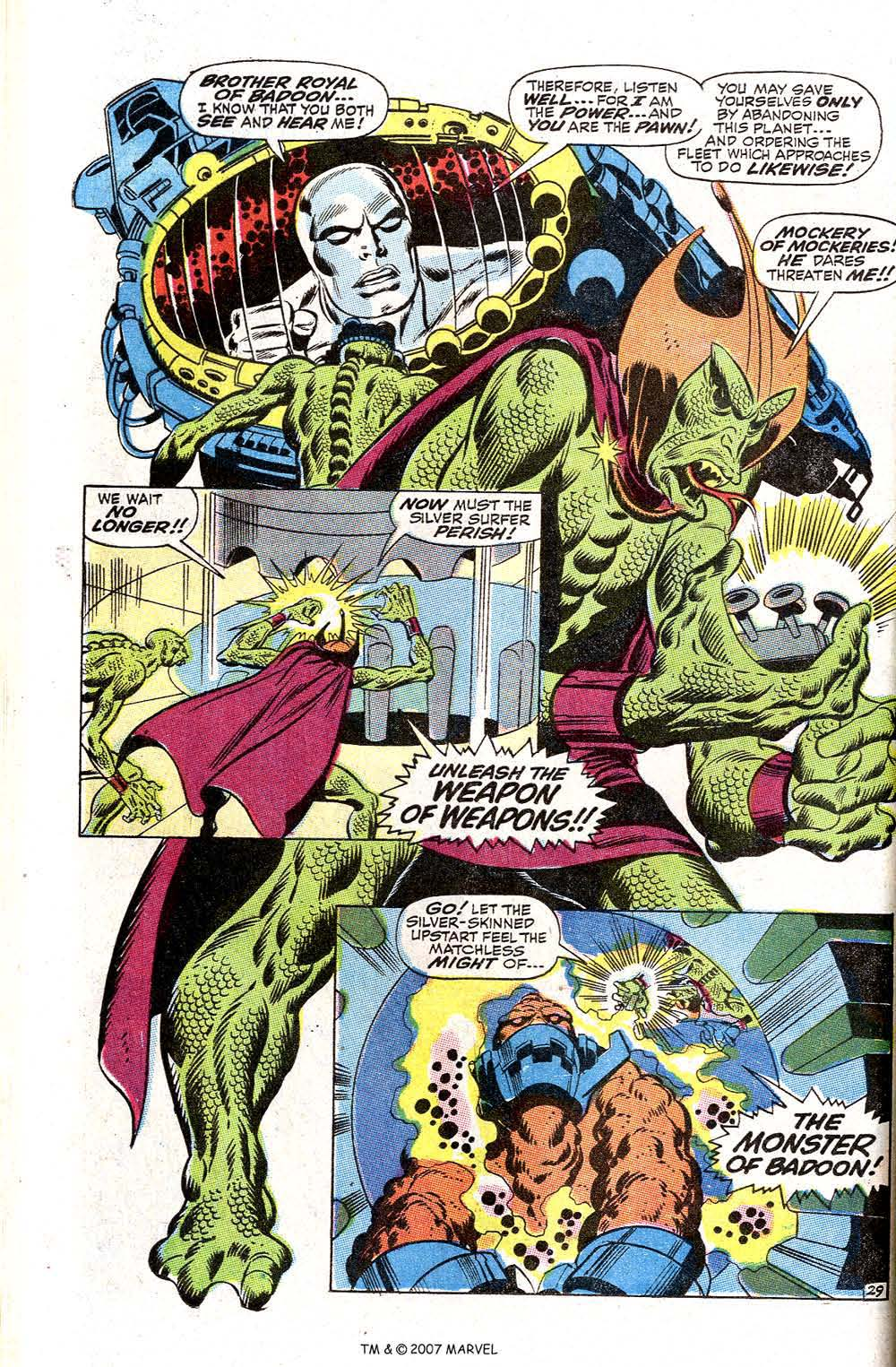 Read online Silver Surfer (1968) comic -  Issue #2 - 38