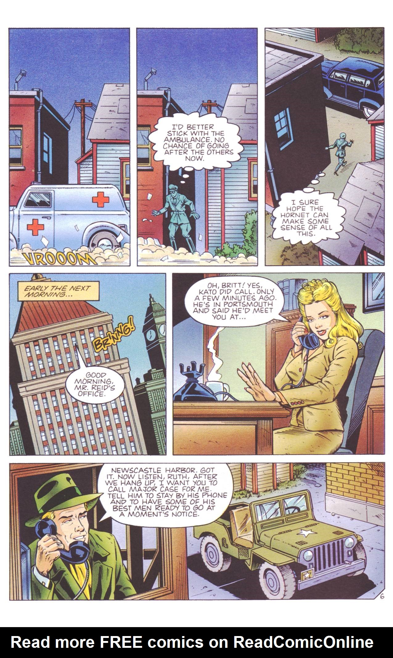 Read online Sting of The Green Hornet comic -  Issue #4 - 7