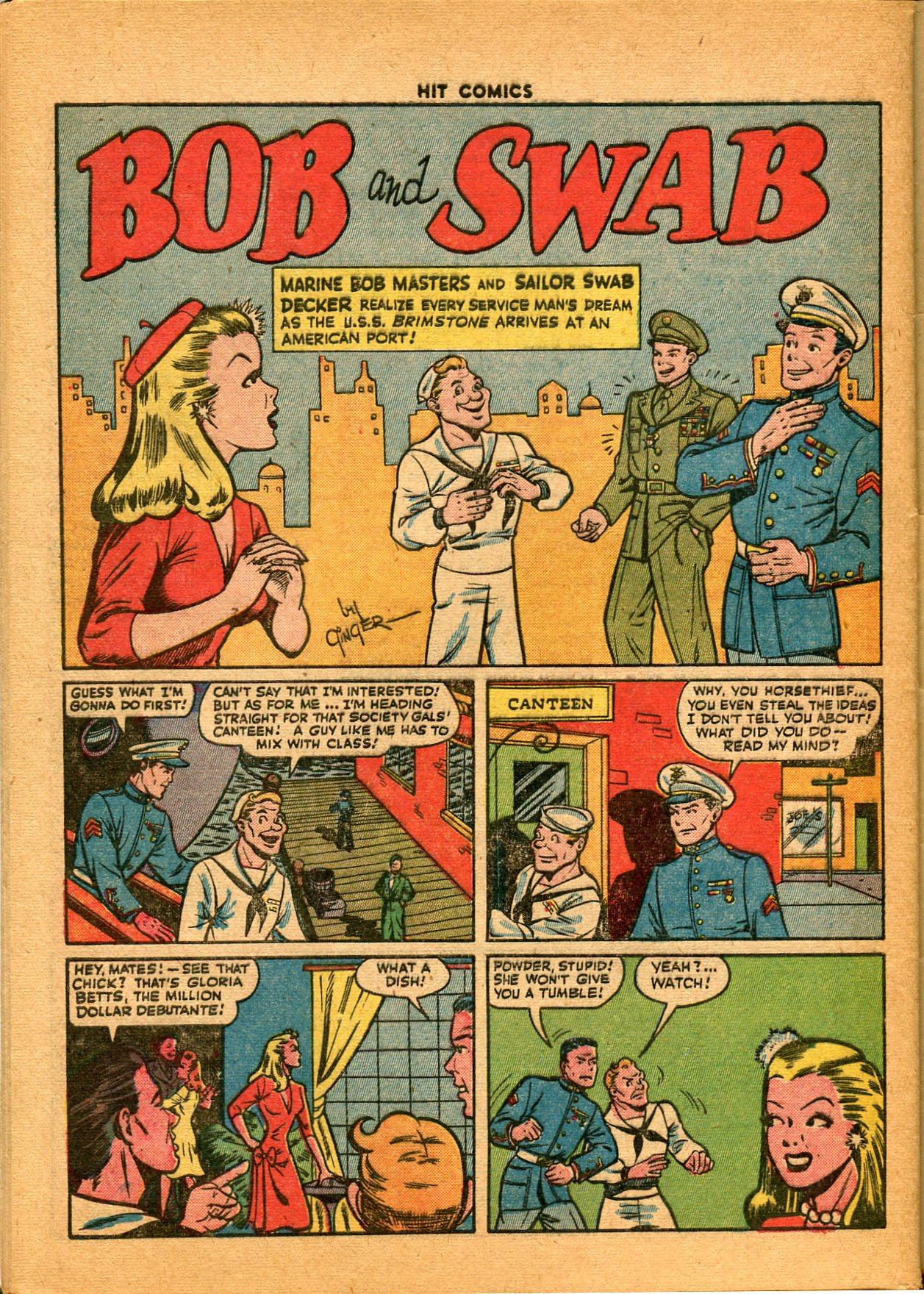 Read online Hit Comics comic -  Issue #35 - 48