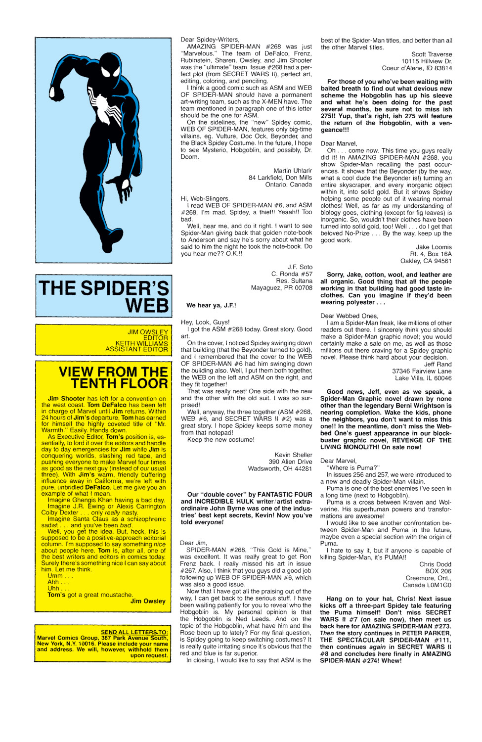 The Amazing Spider-Man (1963) 272 Page 23