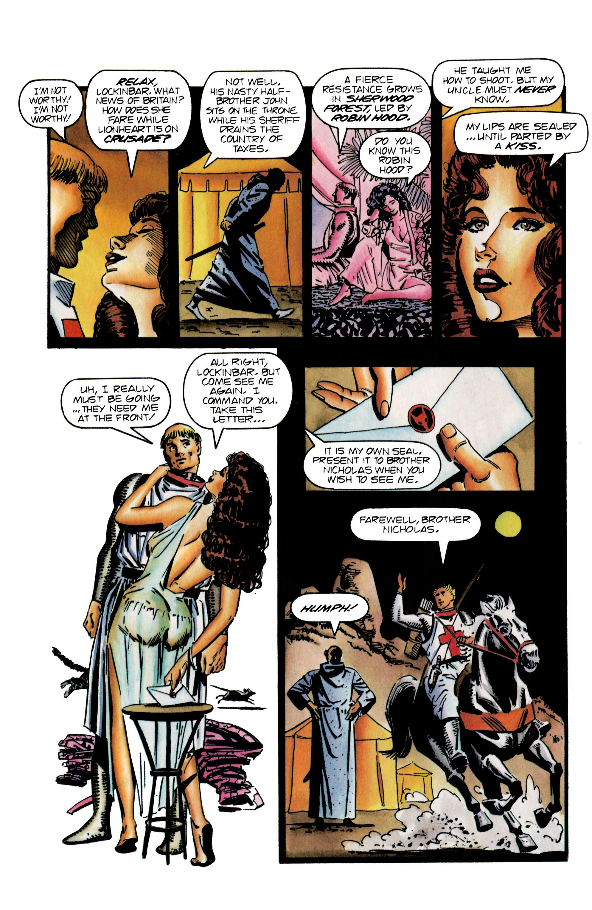 Read online Eternal Warrior (1992) comic -  Issue #25 - 7