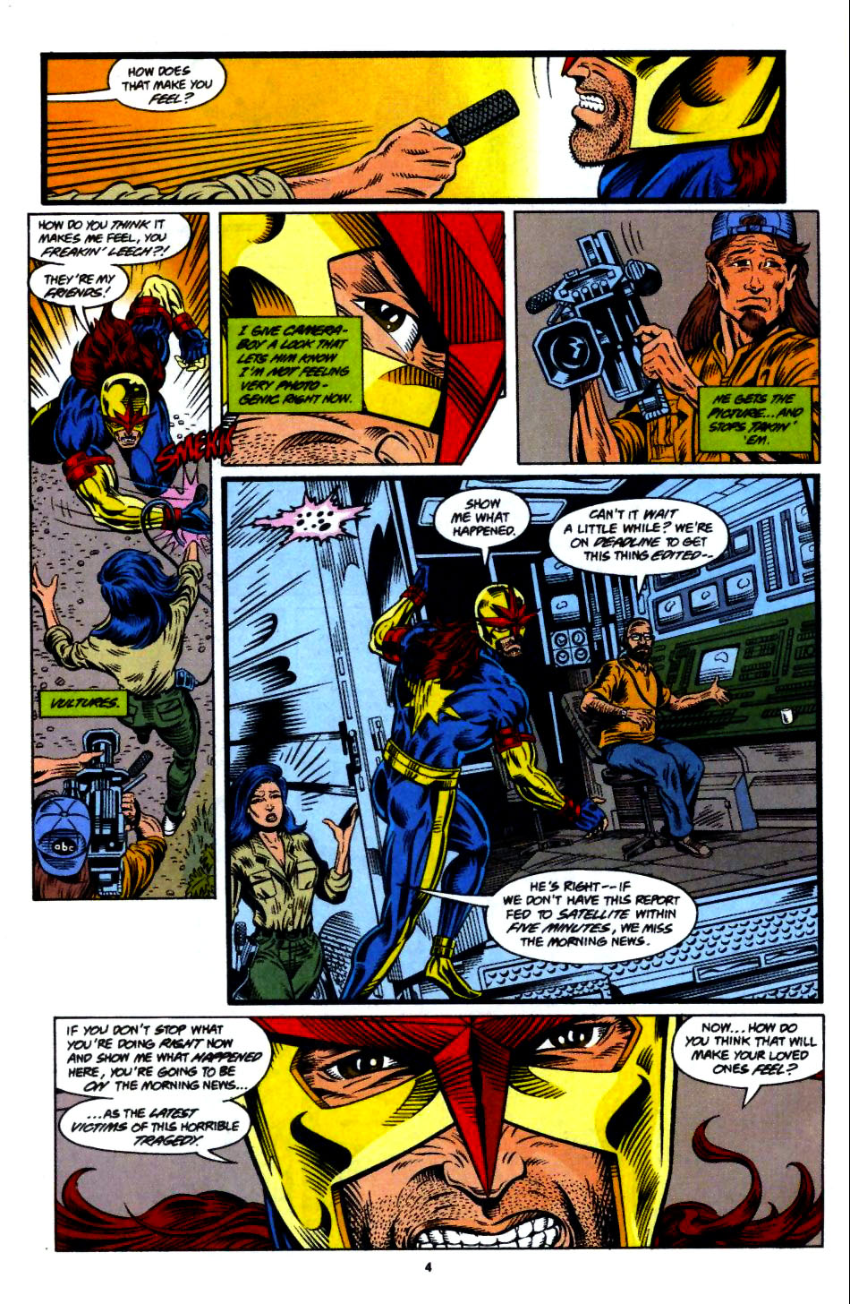 The New Warriors Issue #55 #59 - English 5