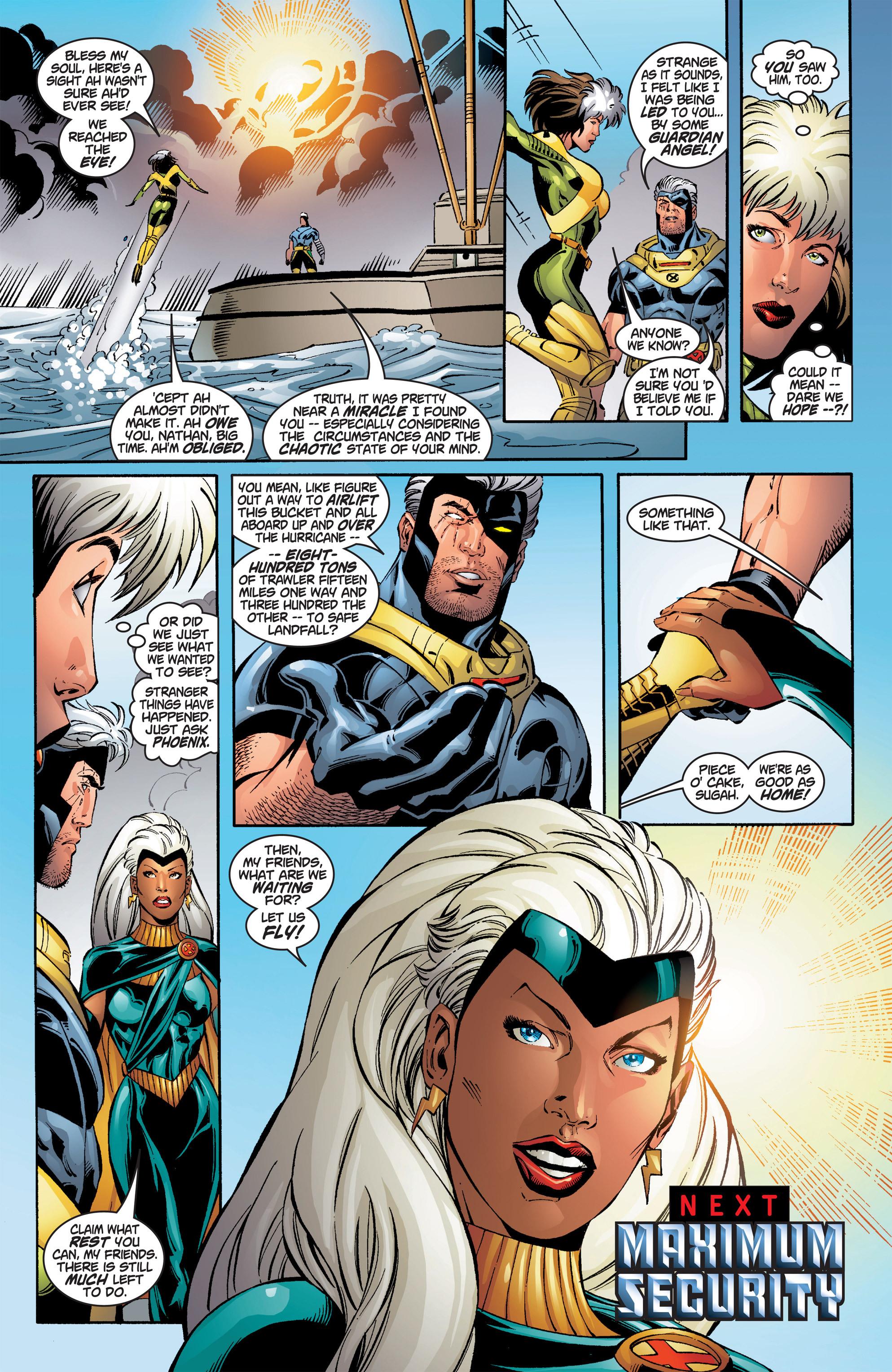 Read online Uncanny X-Men (1963) comic -  Issue #386 - 23