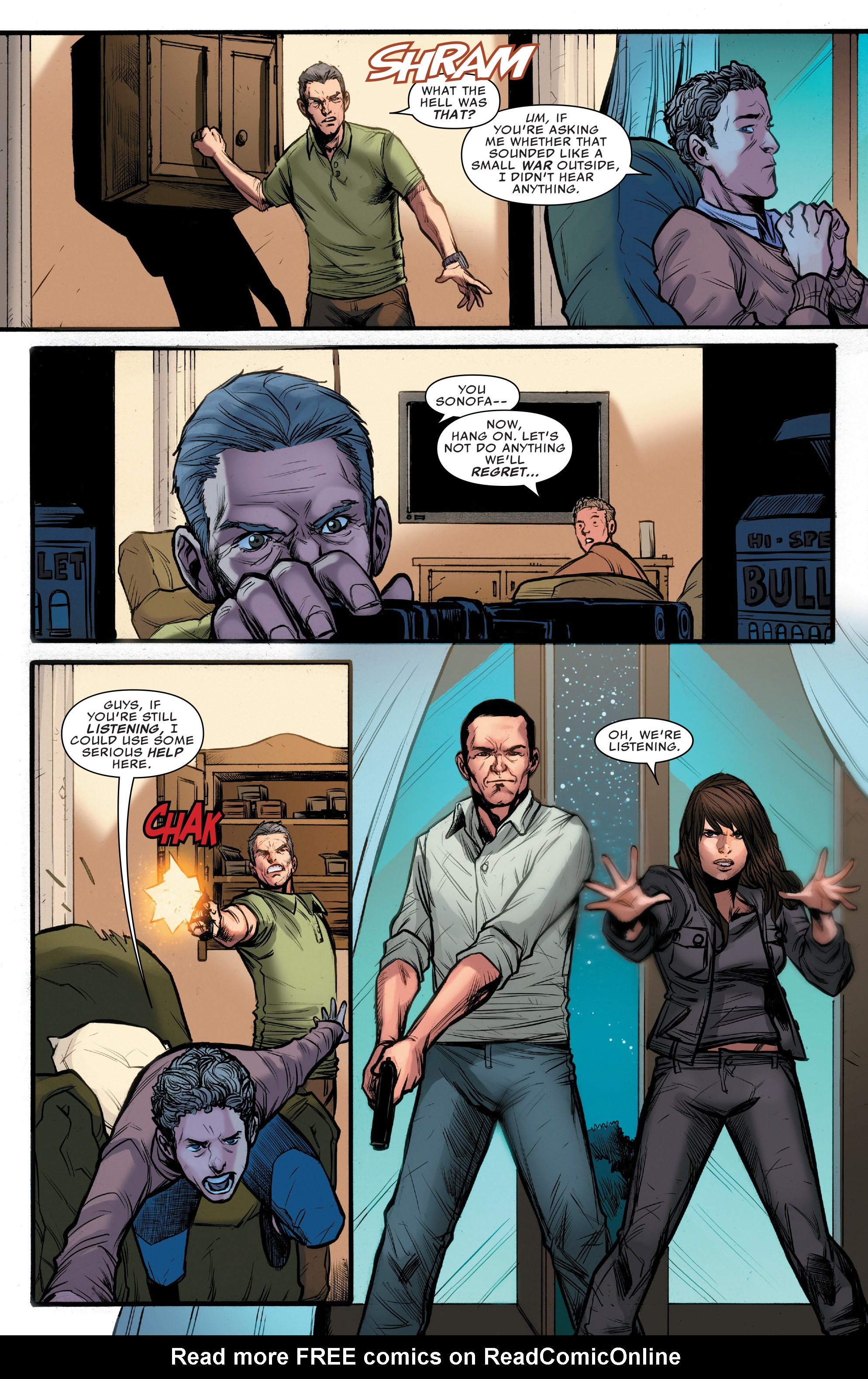 Read online Agents of S.H.I.E.L.D. comic -  Issue #10 - 12
