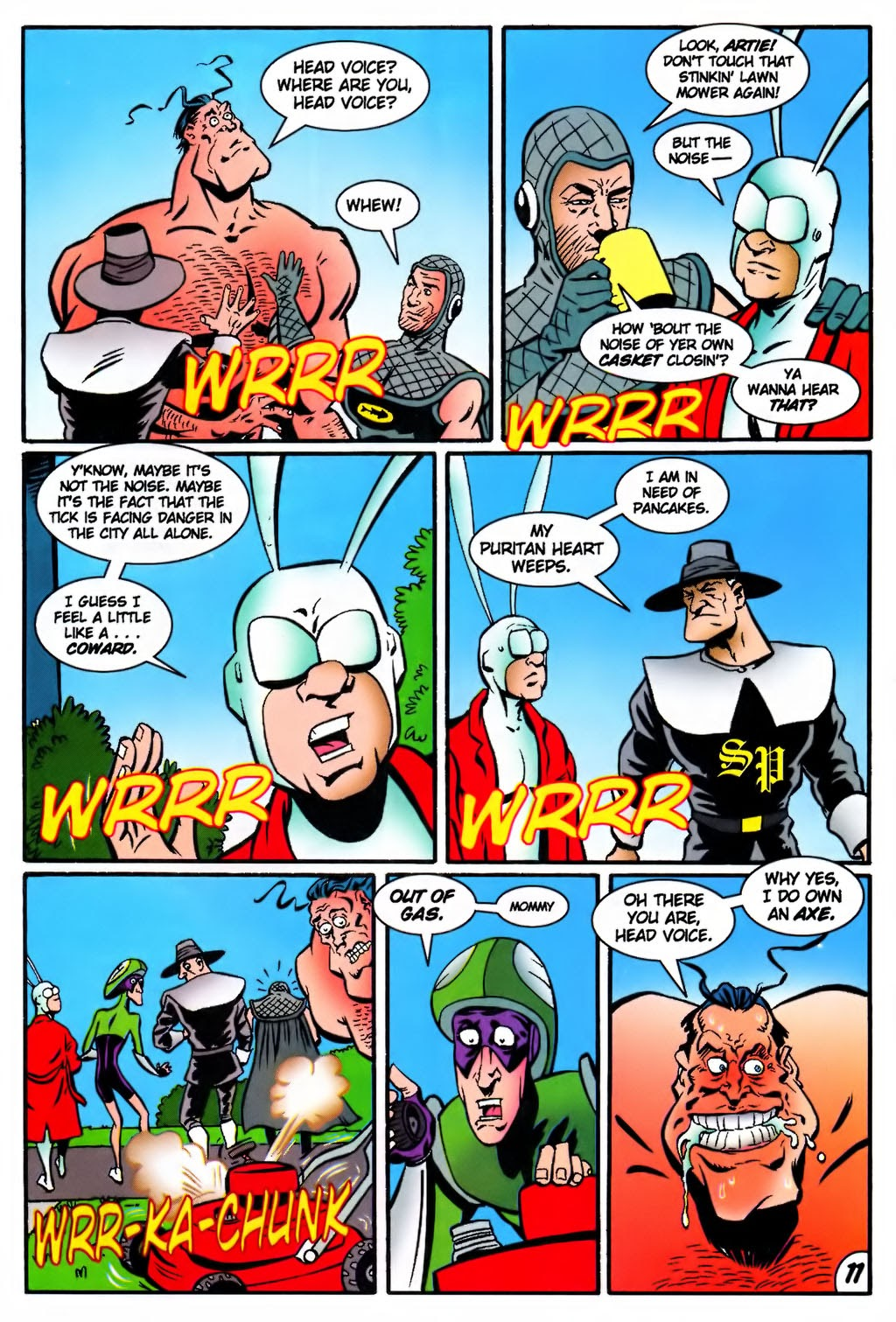 Read online The Tick: Days of Drama comic -  Issue #4 - 13