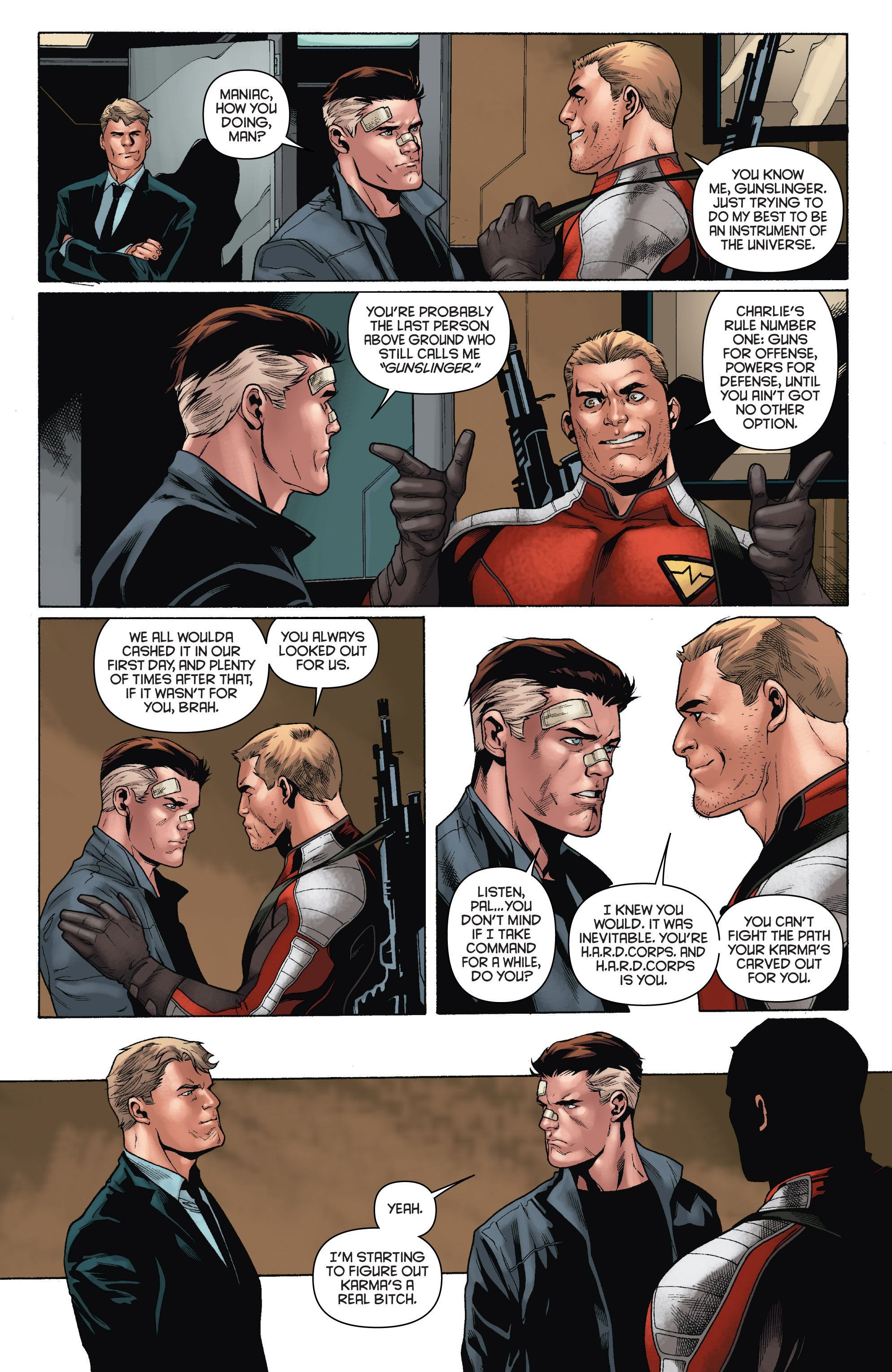 Read online Bloodshot and H.A.R.D.Corps comic -  Issue # TPB 4 - 15
