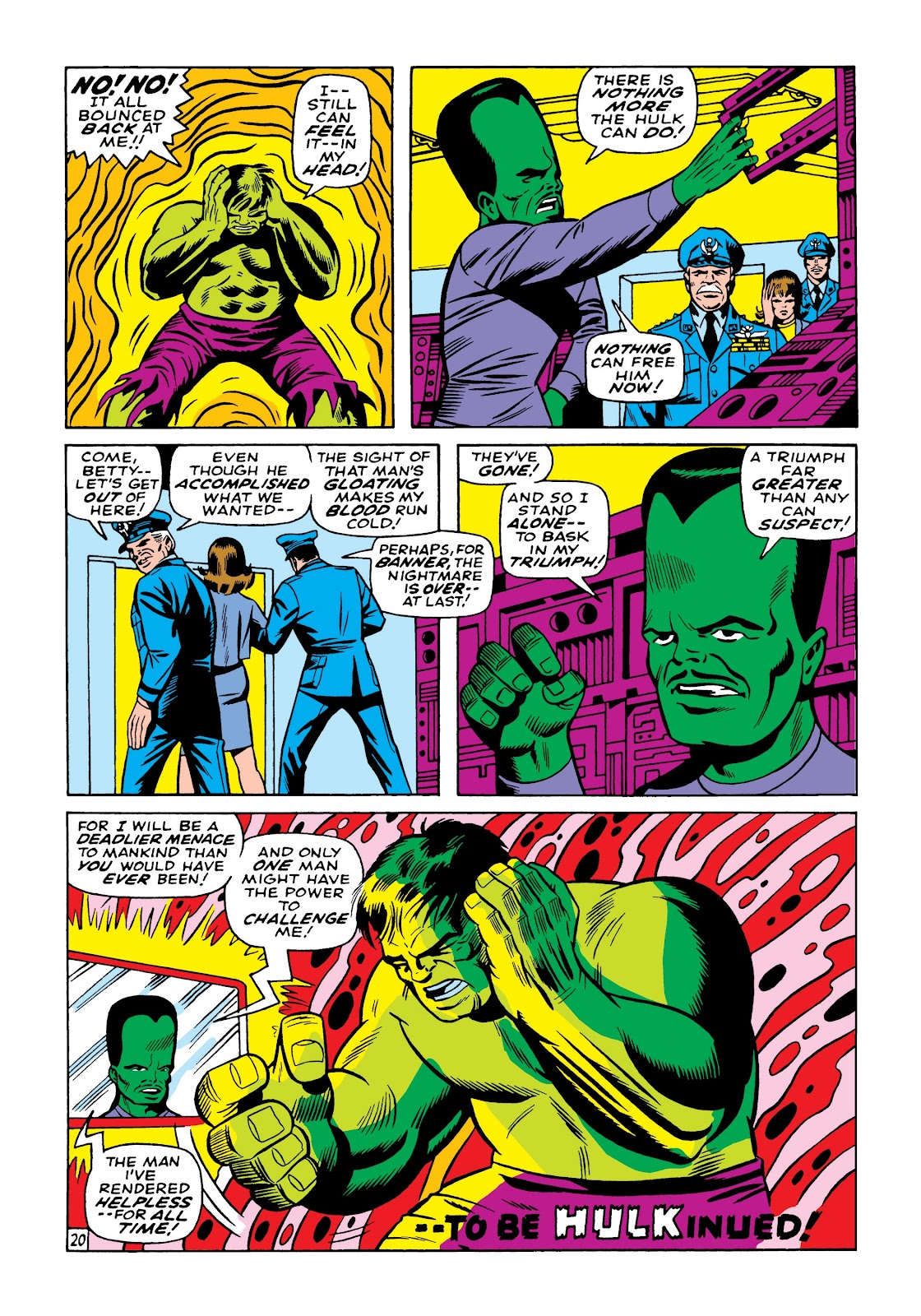 Read online Marvel Masterworks: The Incredible Hulk comic -  Issue # TPB 5 (Part 2) - 10