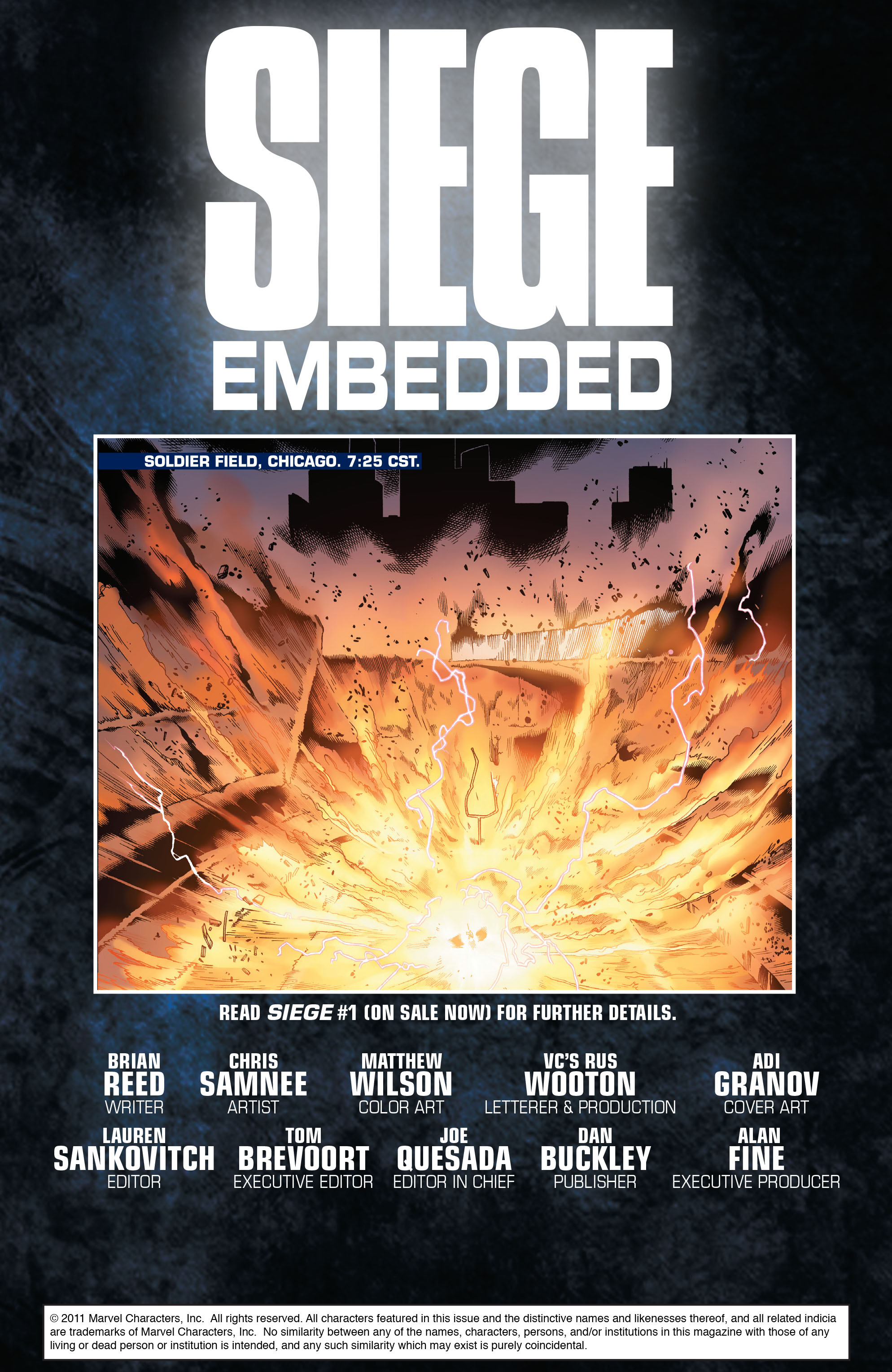 Read online Siege: Embedded comic -  Issue #1 - 2