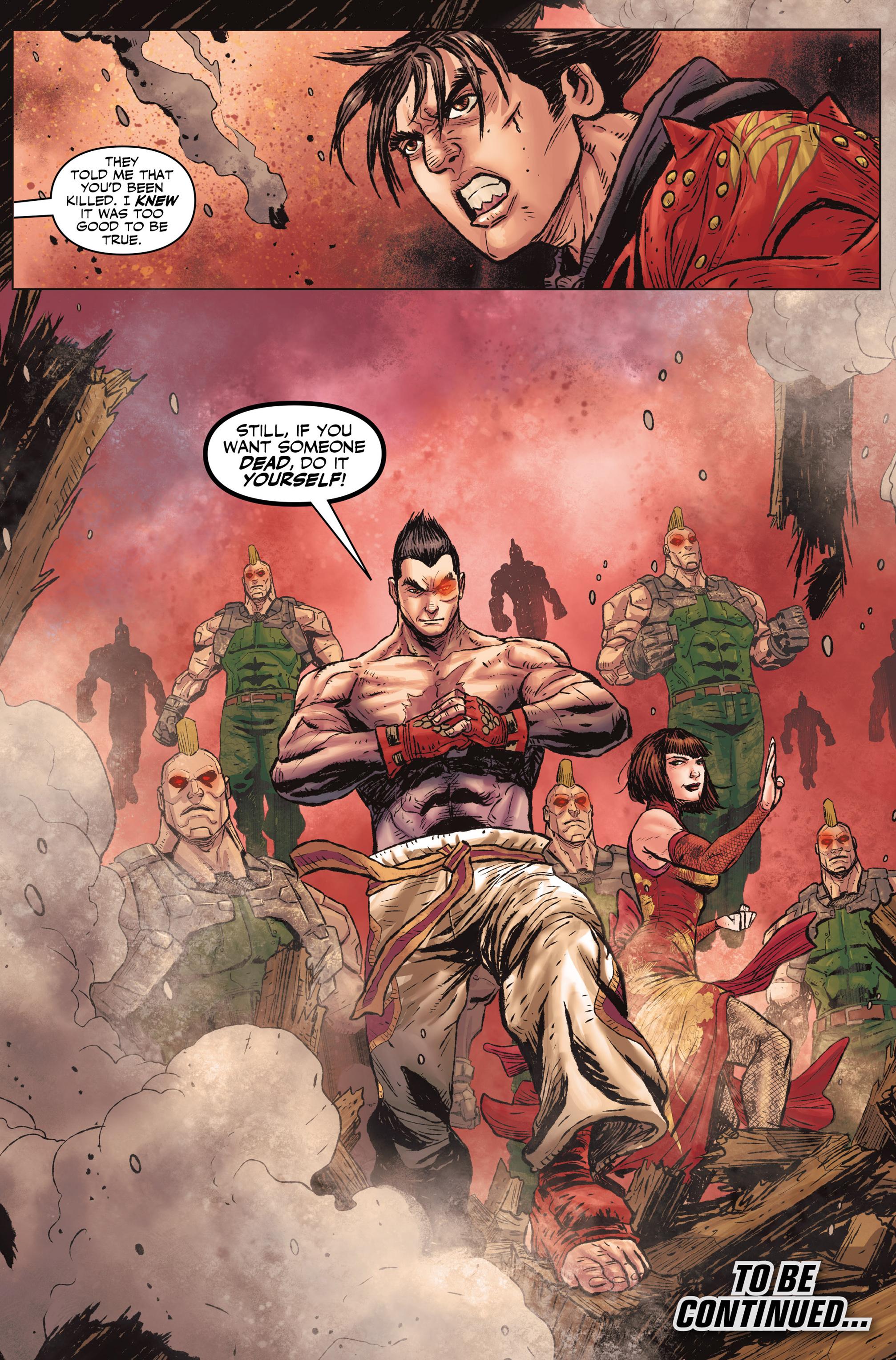 Read online Tekken comic -  Issue #1 - 28