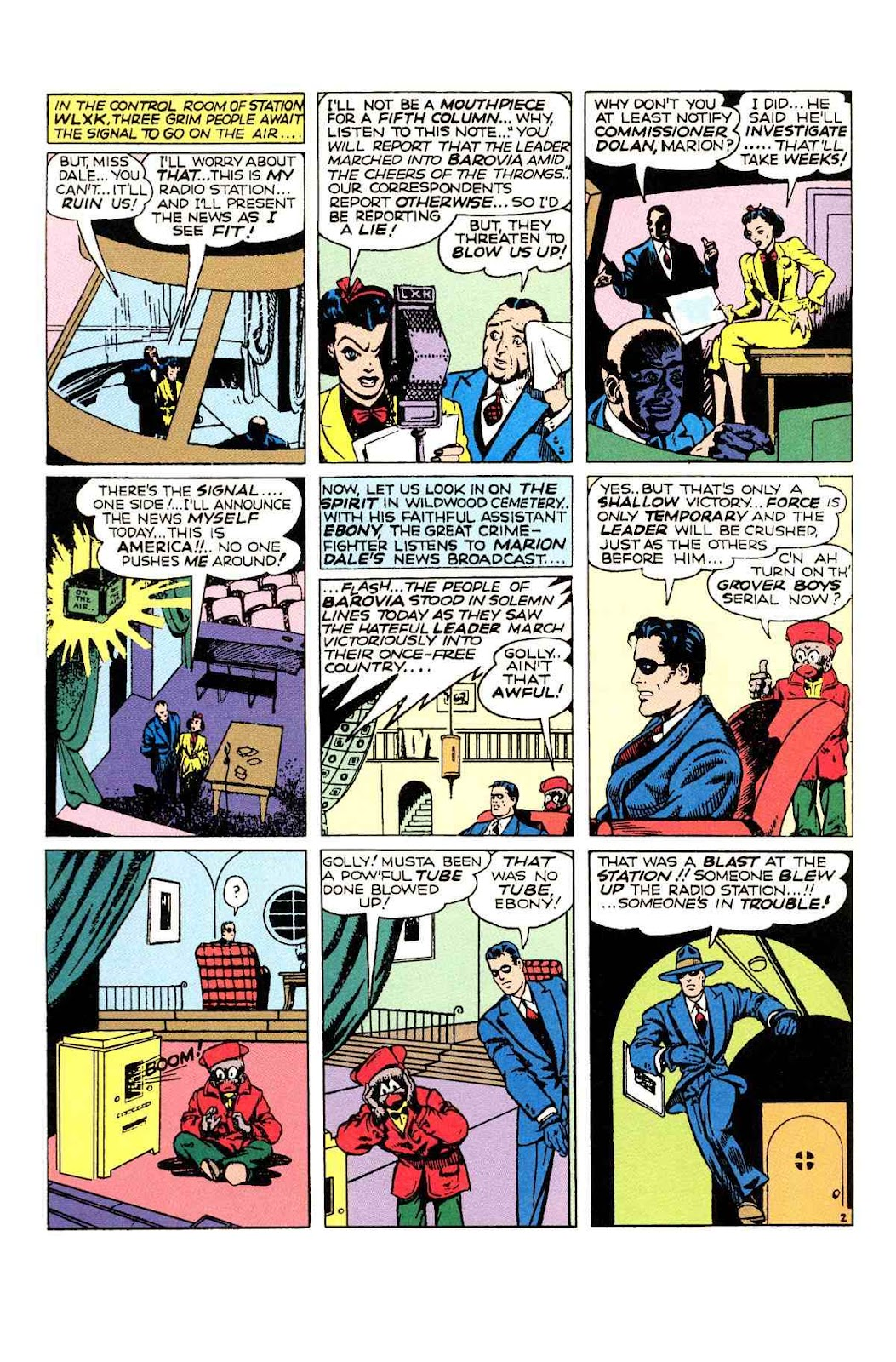 Read online Will Eisner's The Spirit Archives comic -  Issue # TPB 2 (Part 1) - 50