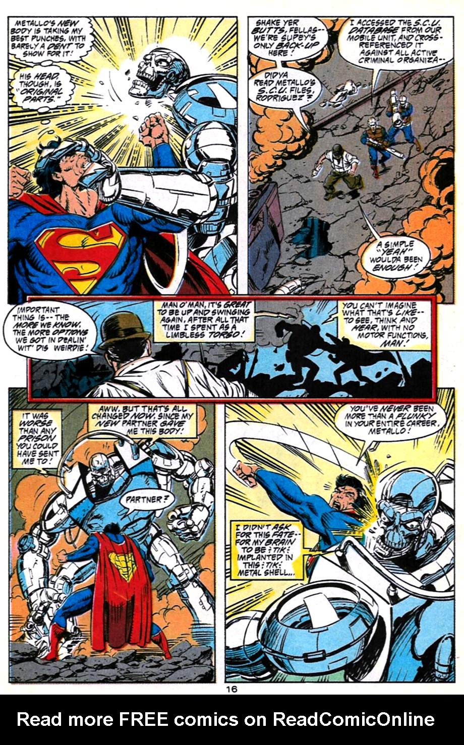 Read online Adventures of Superman (1987) comic -  Issue #491 - 17