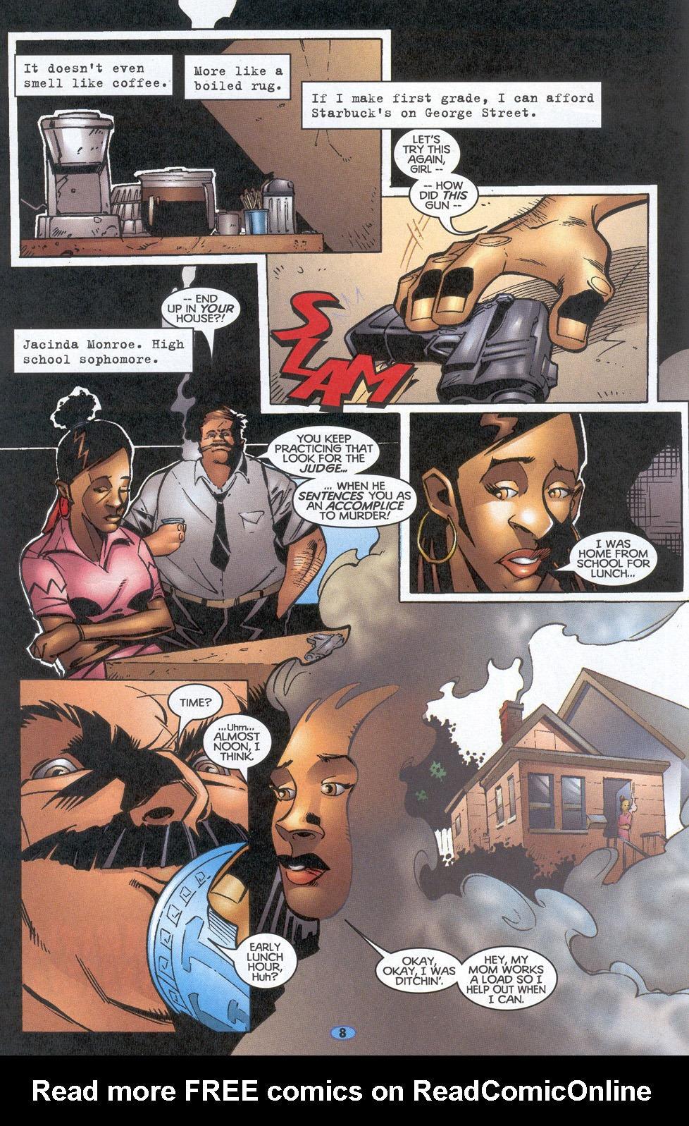 Read online Troublemakers comic -  Issue #12 - 7