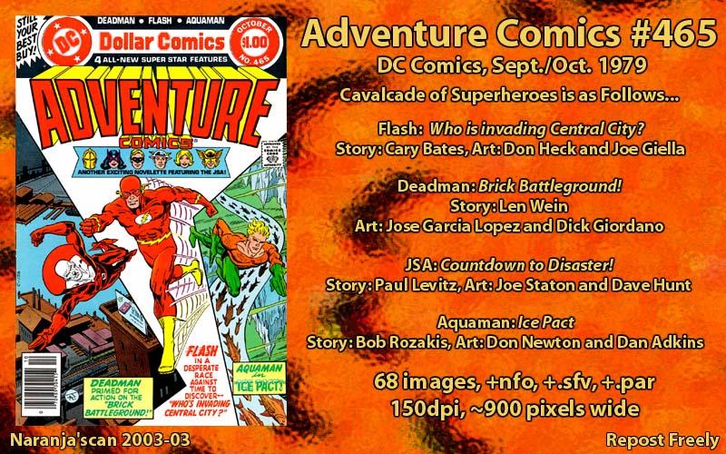 Read online Adventure Comics (1938) comic -  Issue #465 - 1