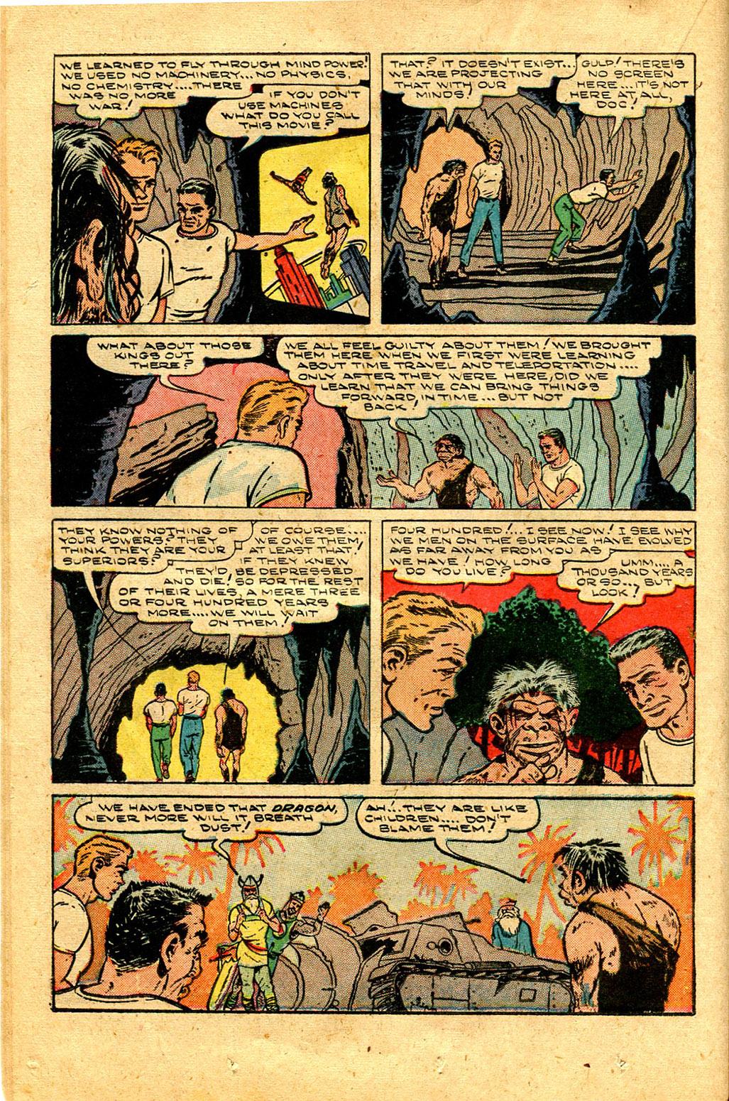 Read online Shadow Comics comic -  Issue #100 - 24