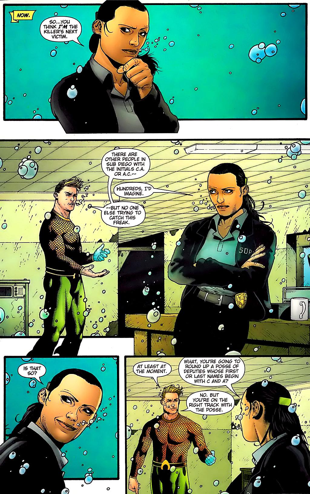Read online Aquaman (2003) comic -  Issue #31 - 7
