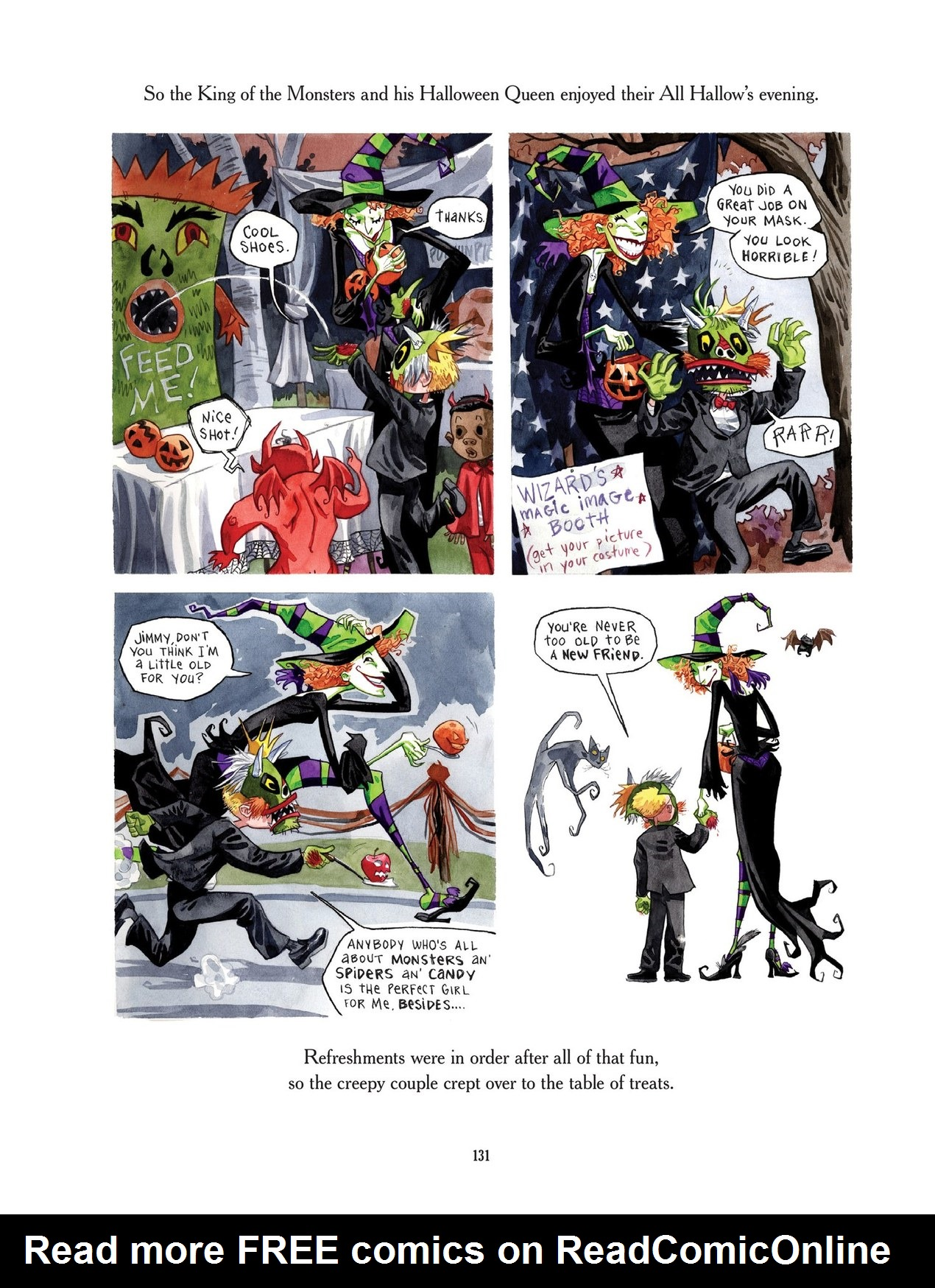 Read online Scary Godmother comic -  Issue # TPB - 131