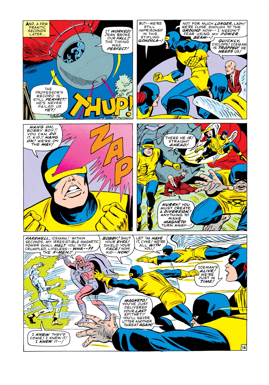 Read online Uncanny X-Men (1963) comic -  Issue #18 - 17