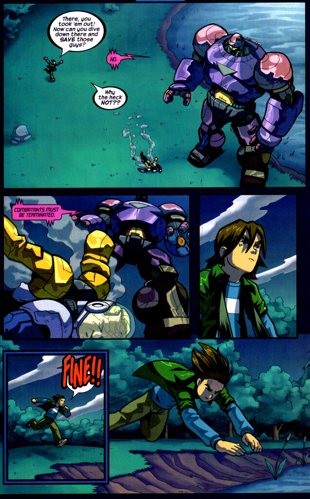 Read online Sentinel comic -  Issue #9 - 11