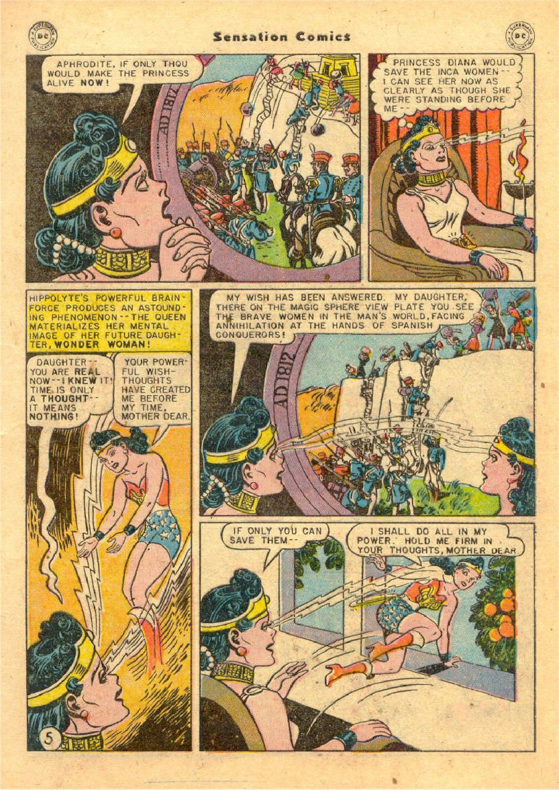 Read online Sensation (Mystery) Comics comic -  Issue #70 - 6