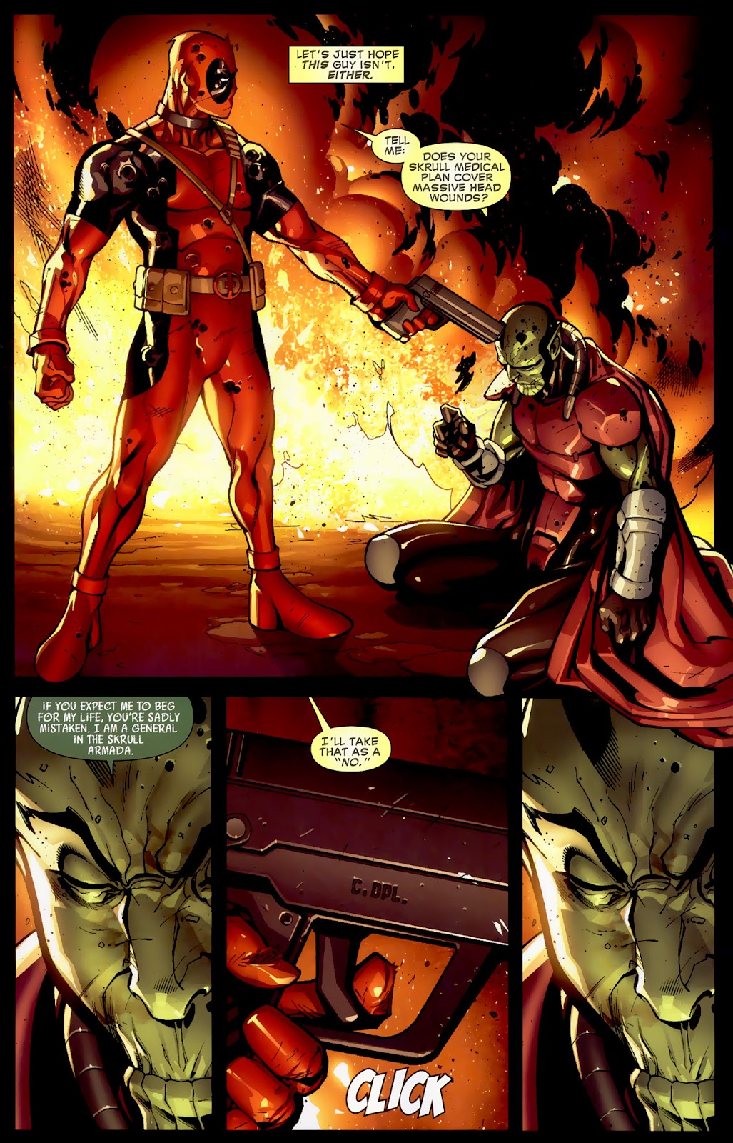 Read online Deadpool (2008) comic -  Issue #1 - 20