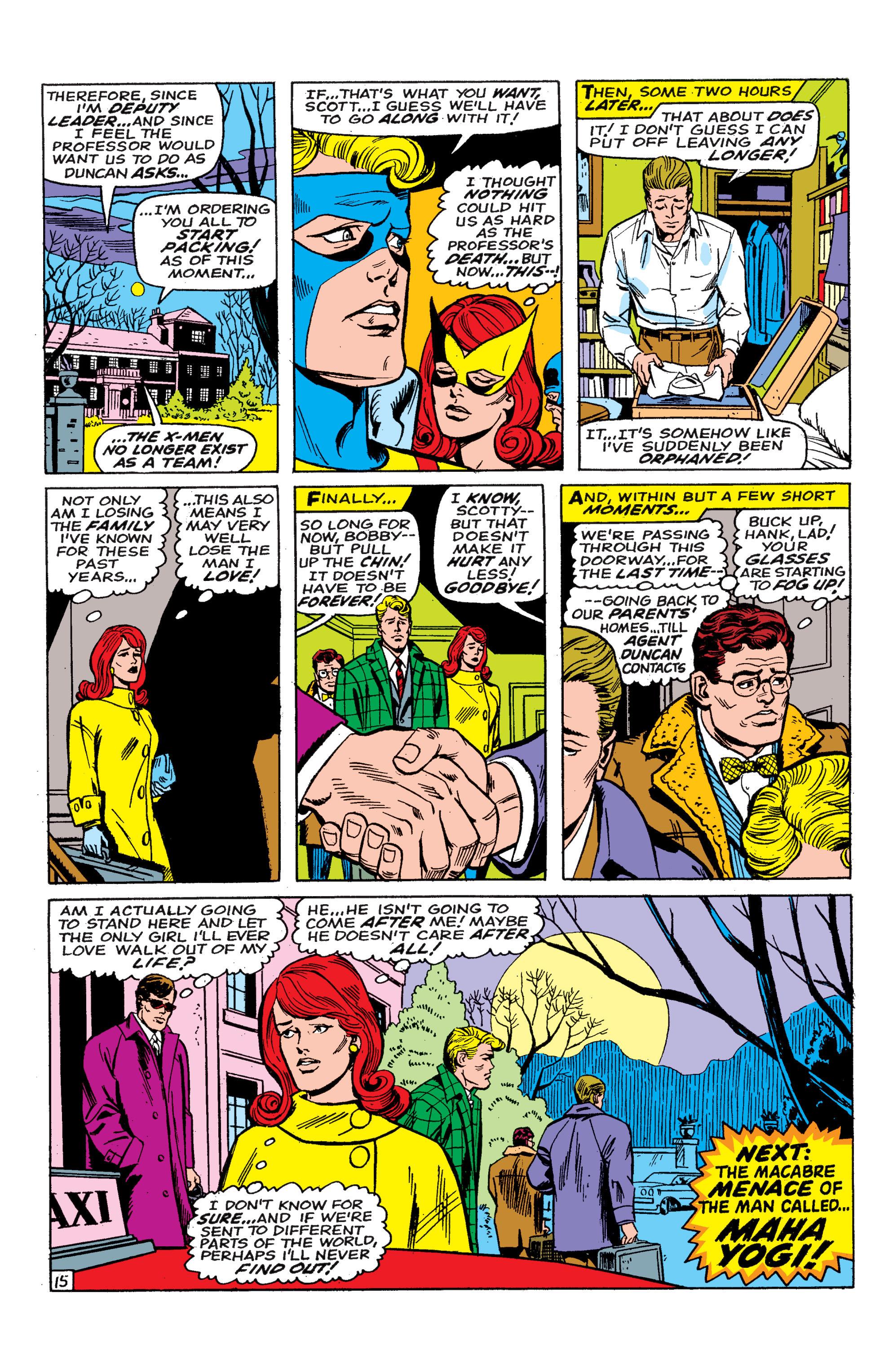 Read online Uncanny X-Men (1963) comic -  Issue #46 - 16