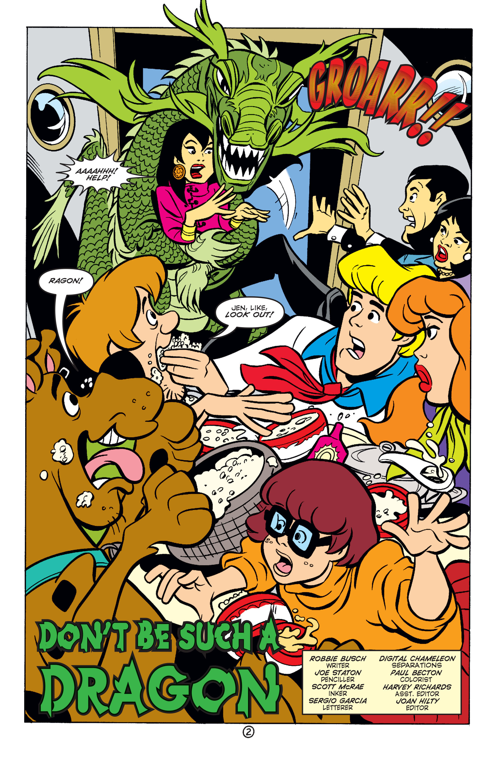 Read online Scooby-Doo (1997) comic -  Issue #57 - 3