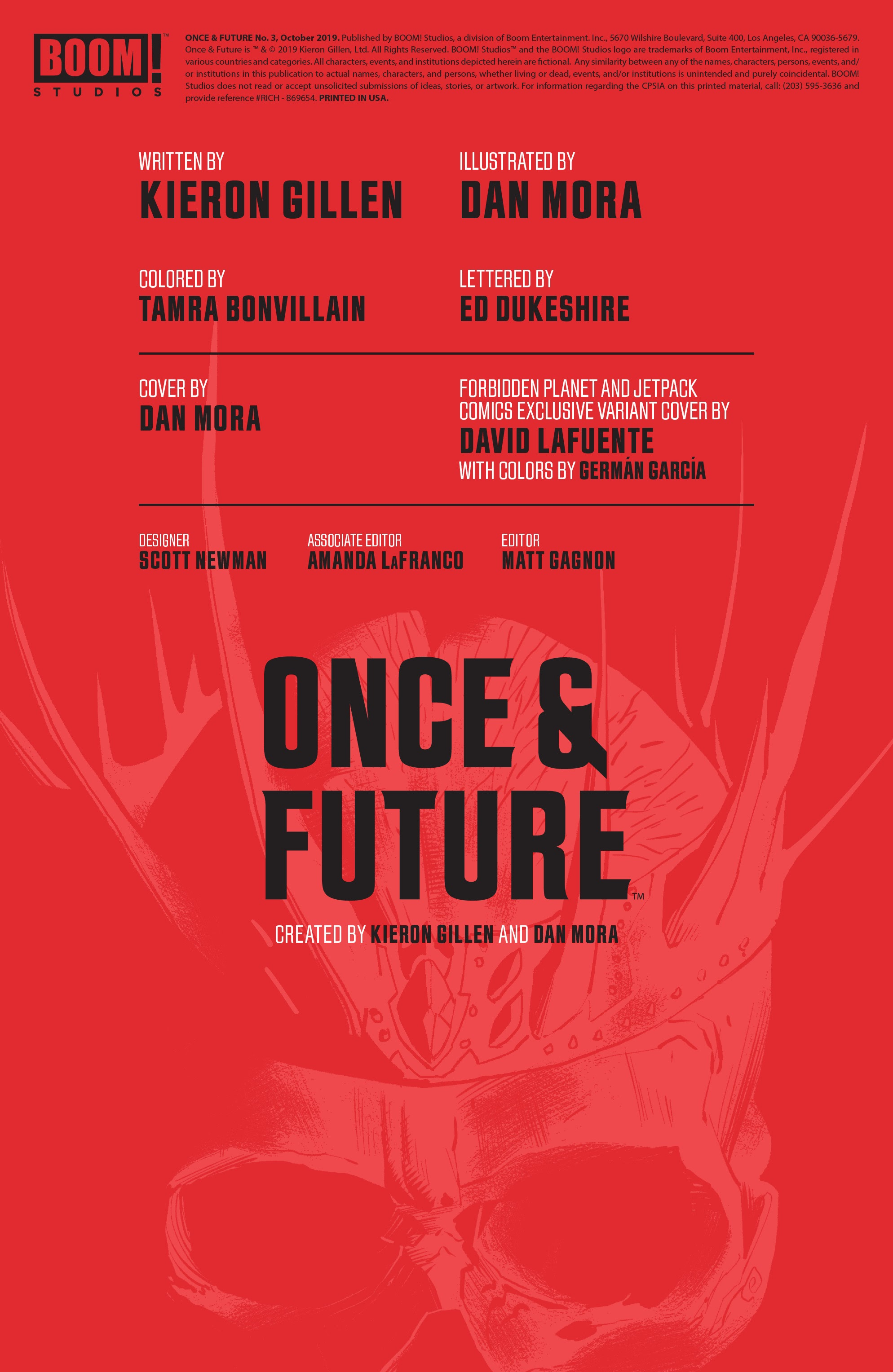 Once & Future 3 Page 2