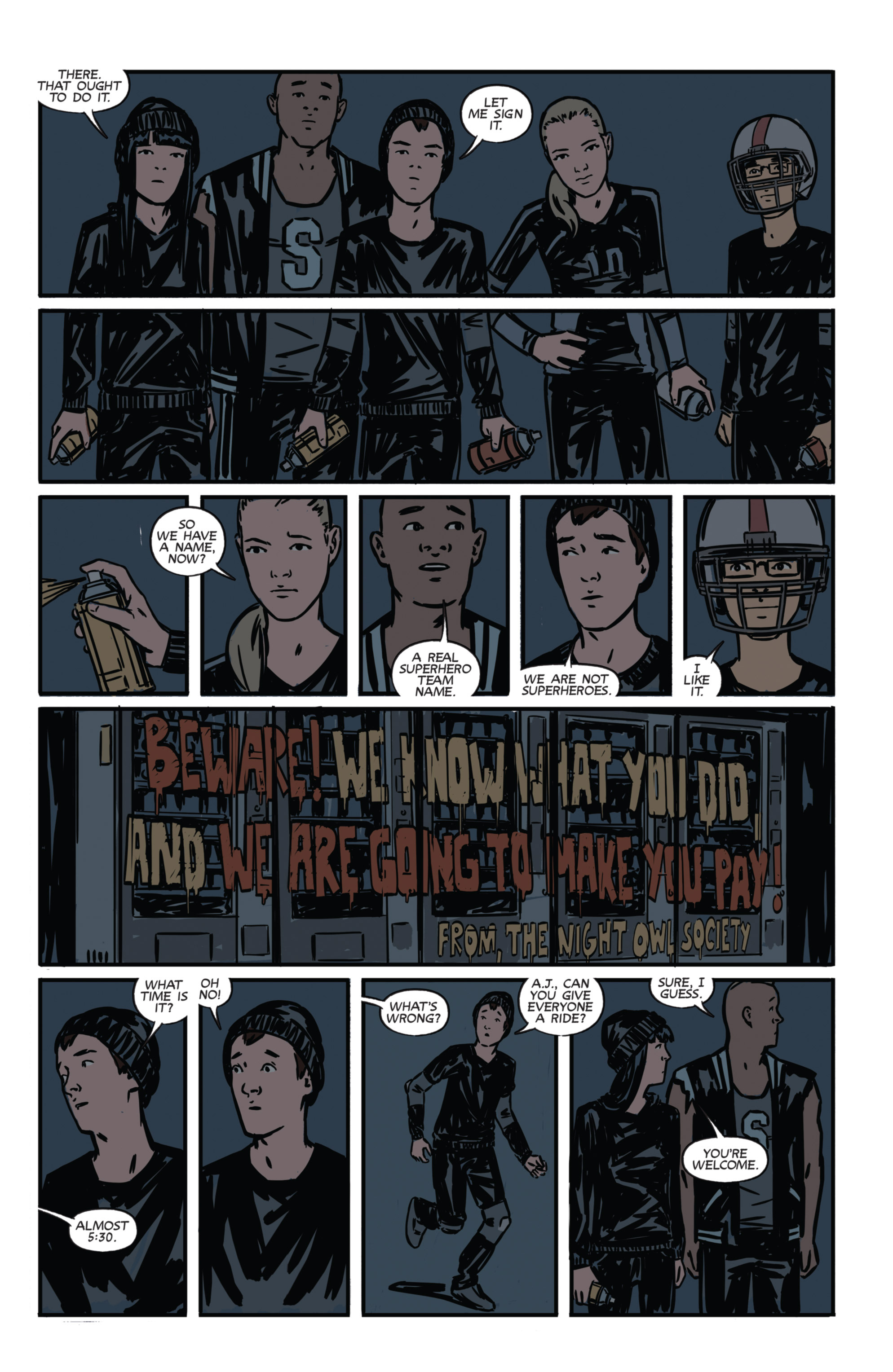 Read online Night Owl Society comic -  Issue #1 - 29