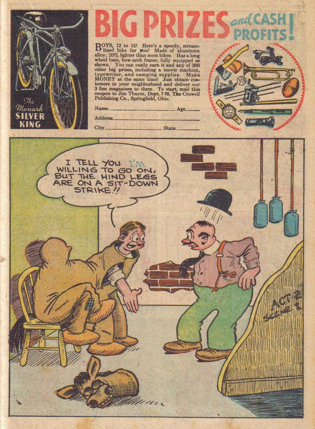 Read online Adventure Comics (1938) comic -  Issue #24 - 29